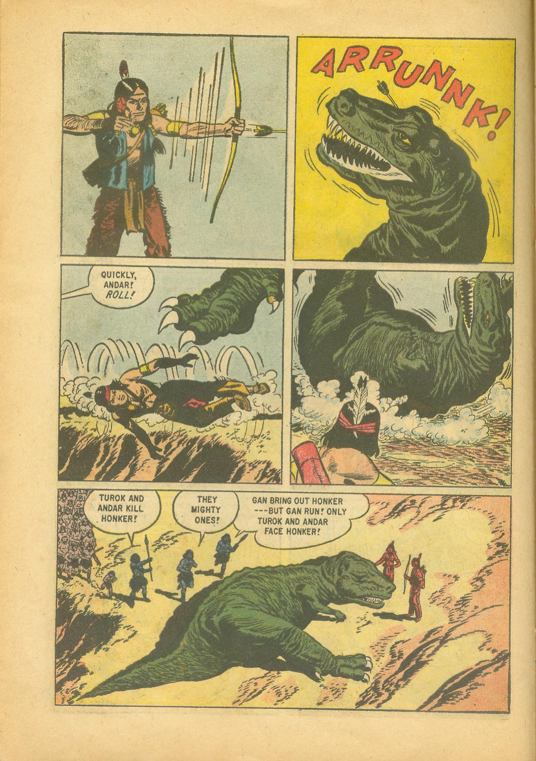 Read online Turok, Son of Stone comic -  Issue #18 - 10
