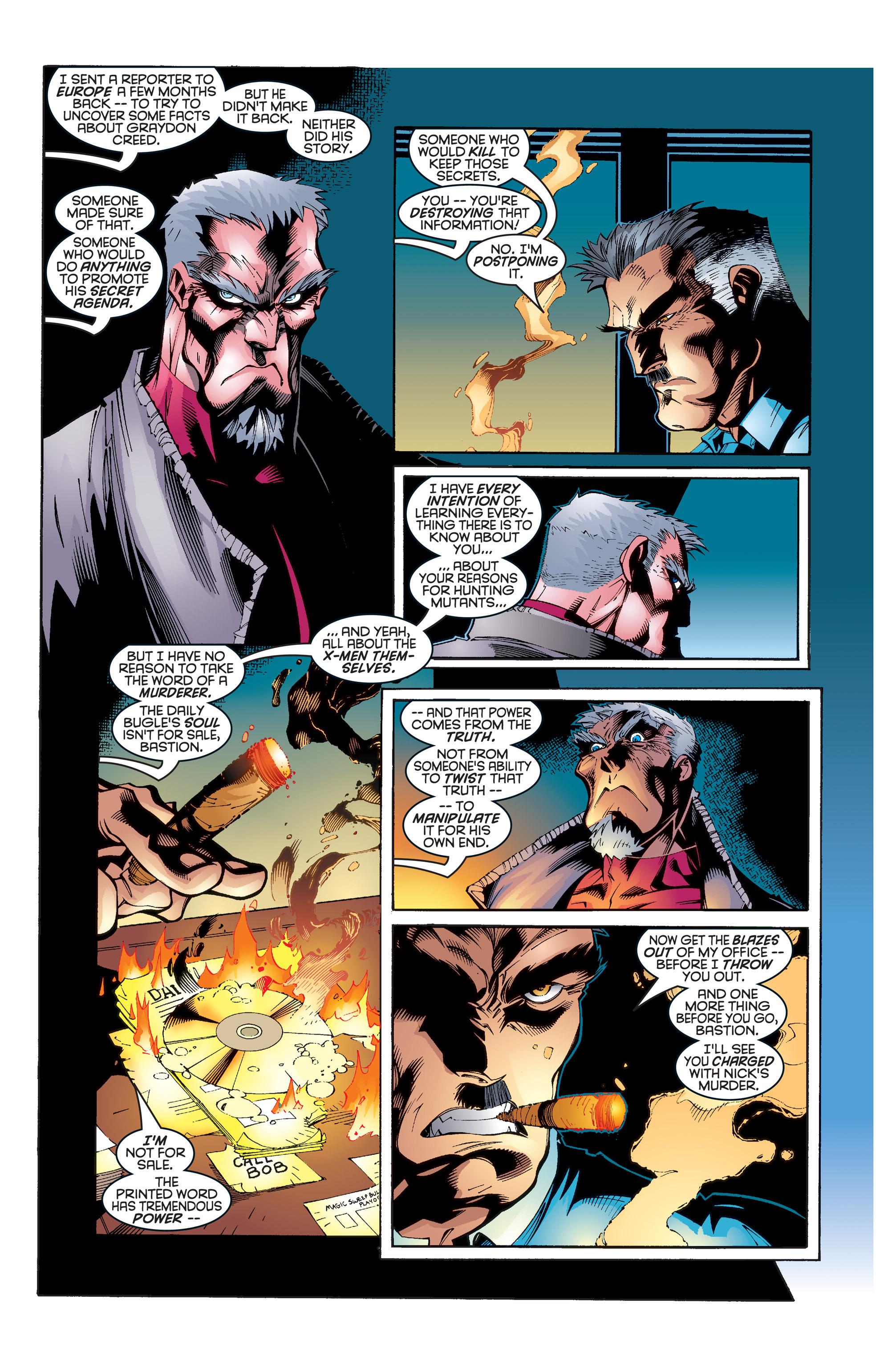 Read online Uncanny X-Men (1963) comic -  Issue #346 - 21