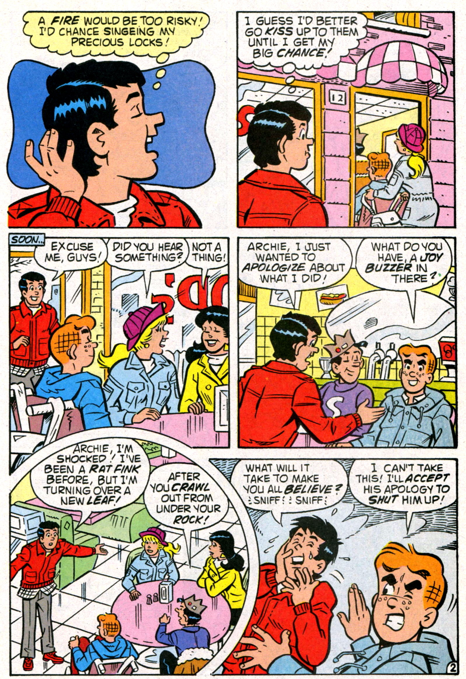 Read online World of Archie comic -  Issue #8 - 28