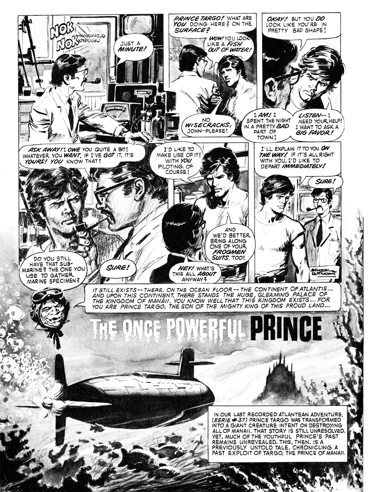 Read online Eerie Archives comic -  Issue # TPB 8 - 199