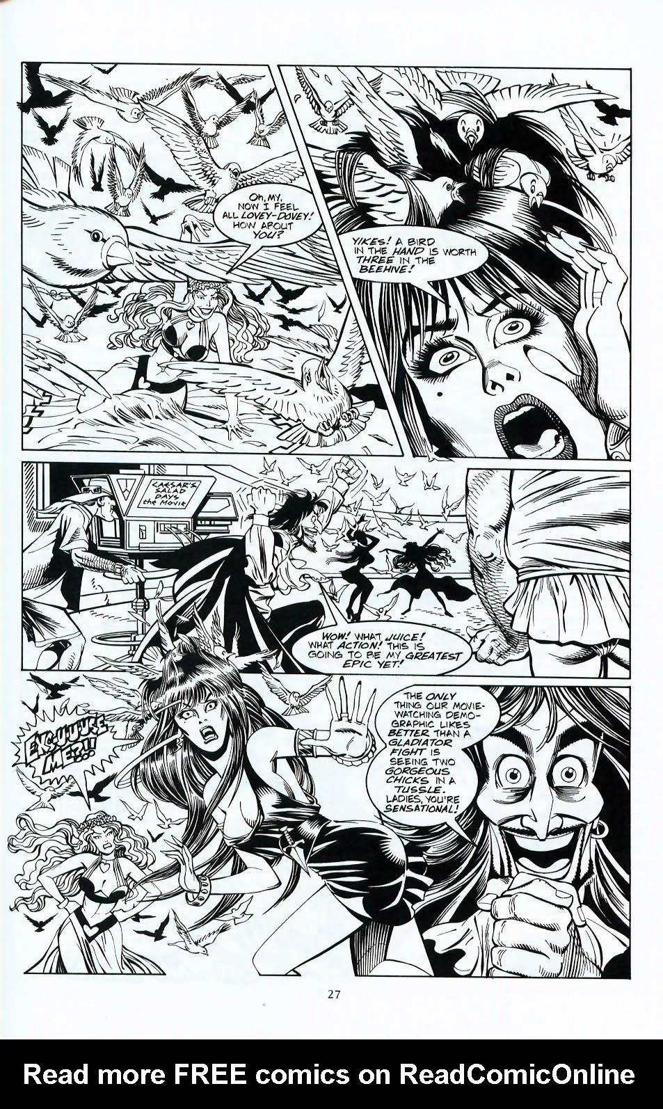 Read online Elvira, Mistress of the Dark comic -  Issue #117 - 24