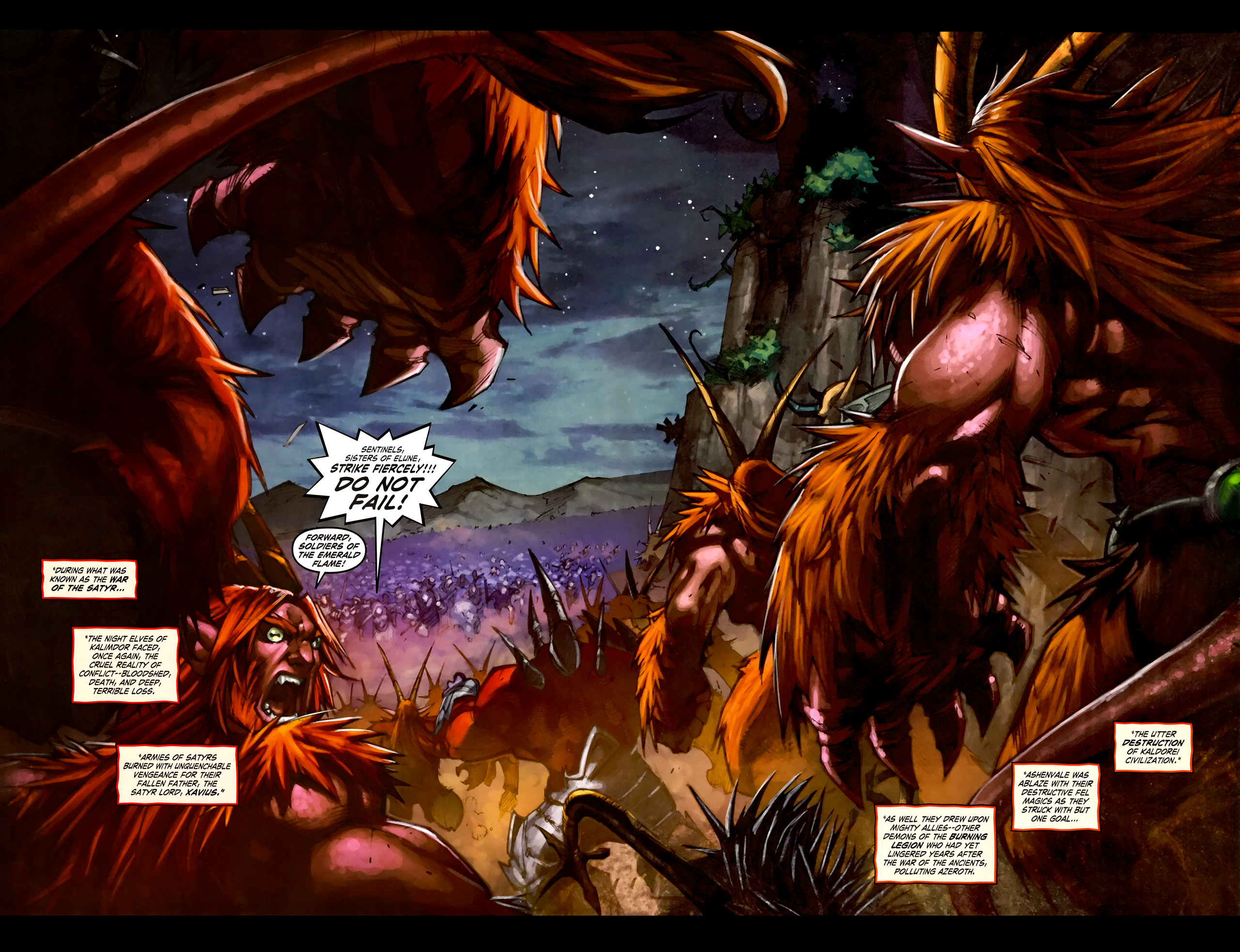 Read online World of Warcraft: Curse of the Worgen comic -  Issue #1 - 20