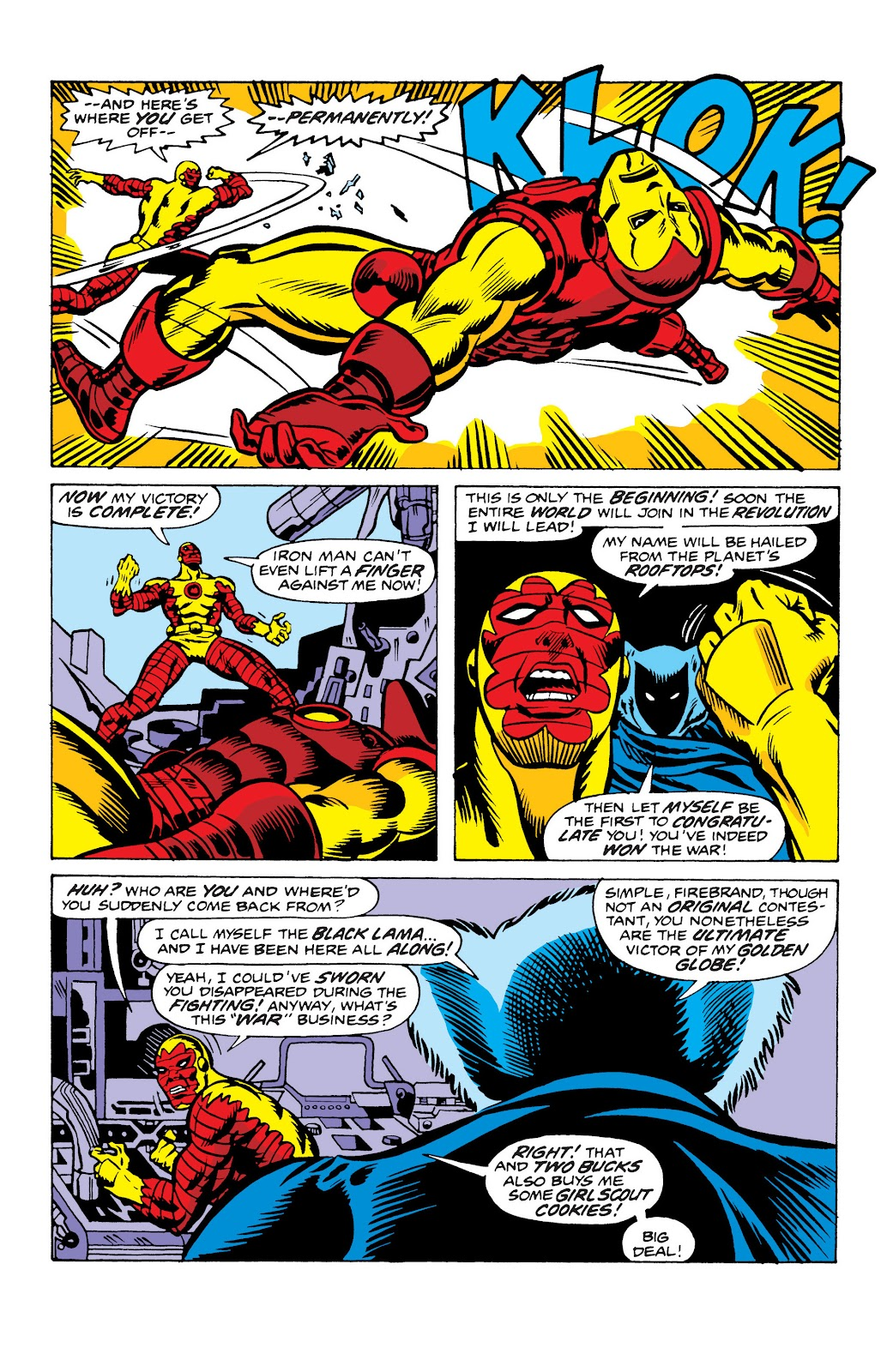 Read online Marvel Masterworks: The Invincible Iron Man comic -  Issue # TPB 10 (Part 2) - 71