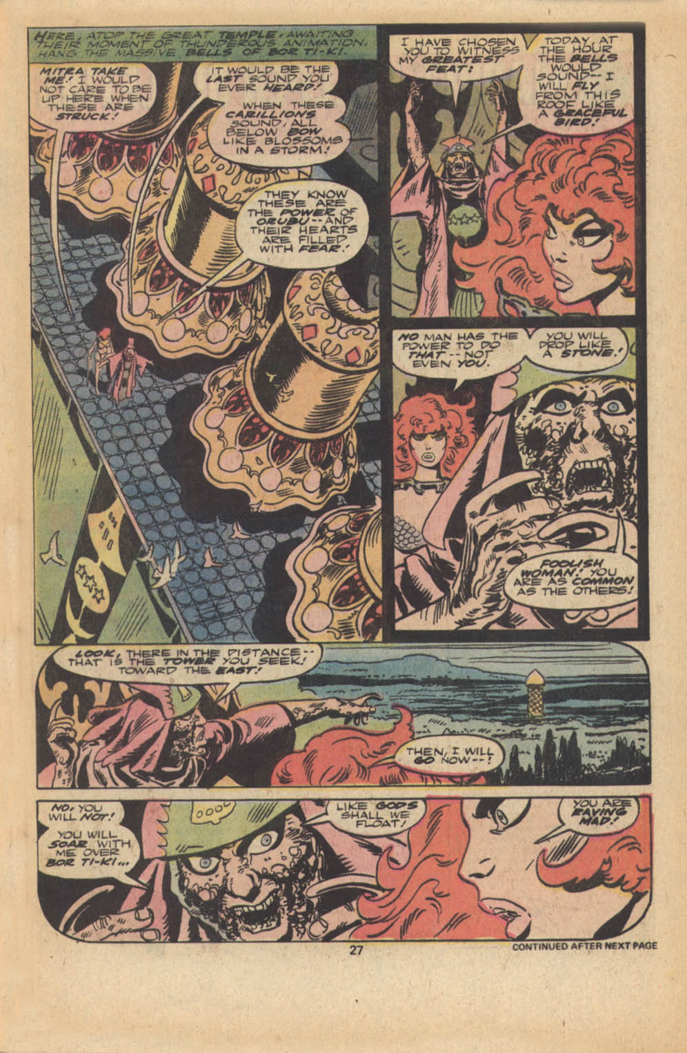 Red Sonja (1977) issue 5 - Page 16