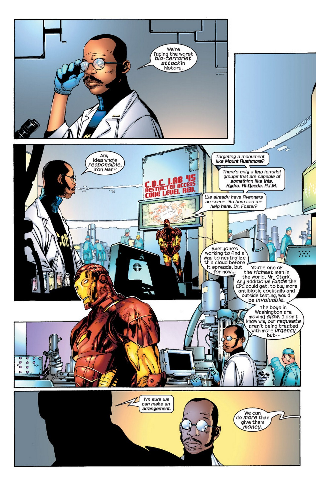 Read online Avengers (1998) comic -  Issue #66 - 3