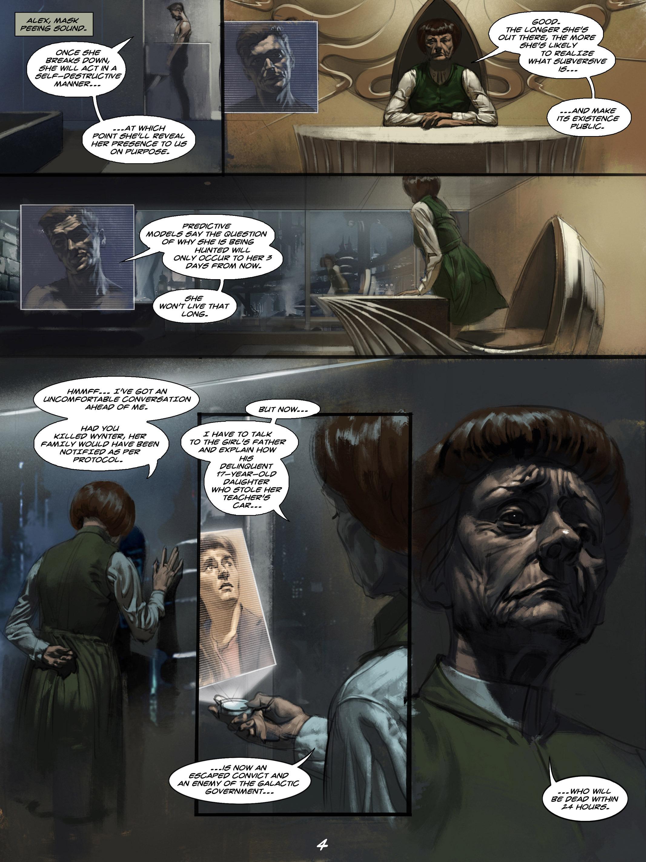 Read online Wynter comic -  Issue #4 - 5