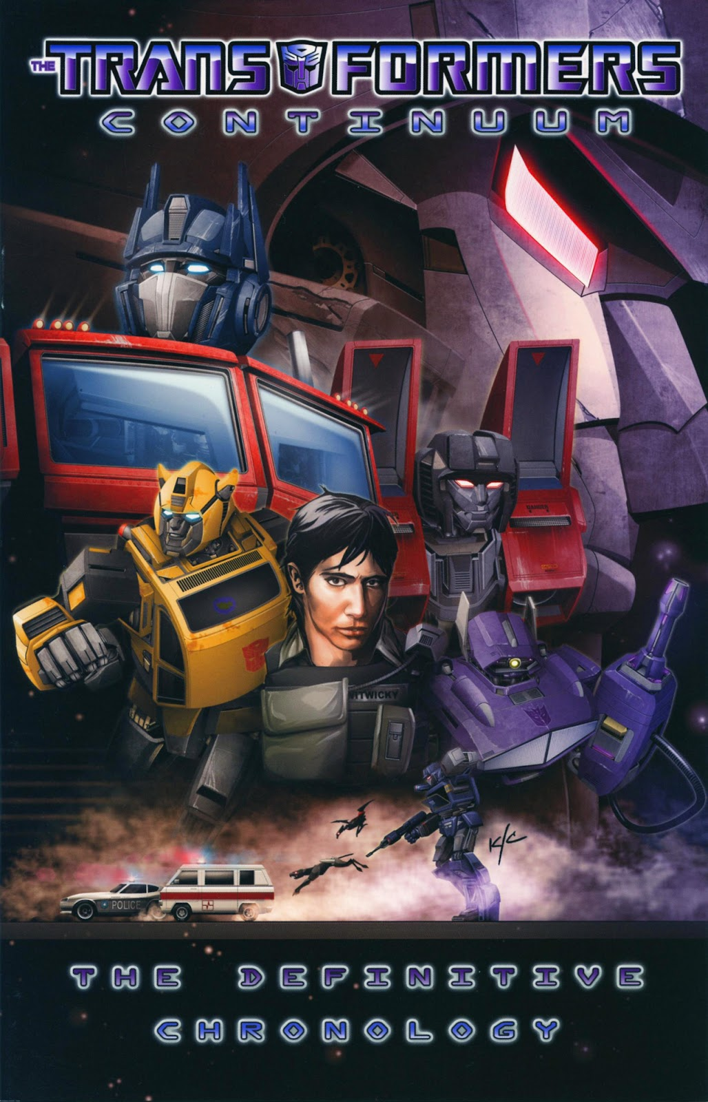 The Transformers Continuum issue Full - Page 1