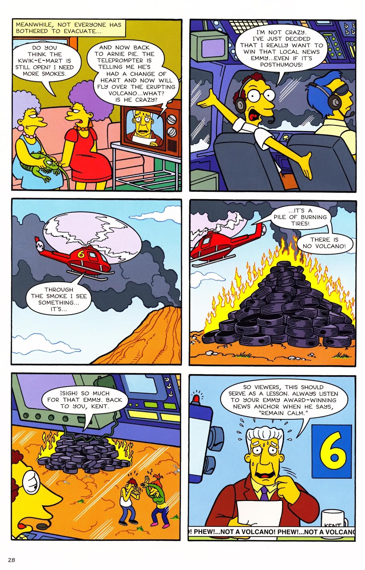 Read online Simpsons Comics comic -  Issue #152 - 23