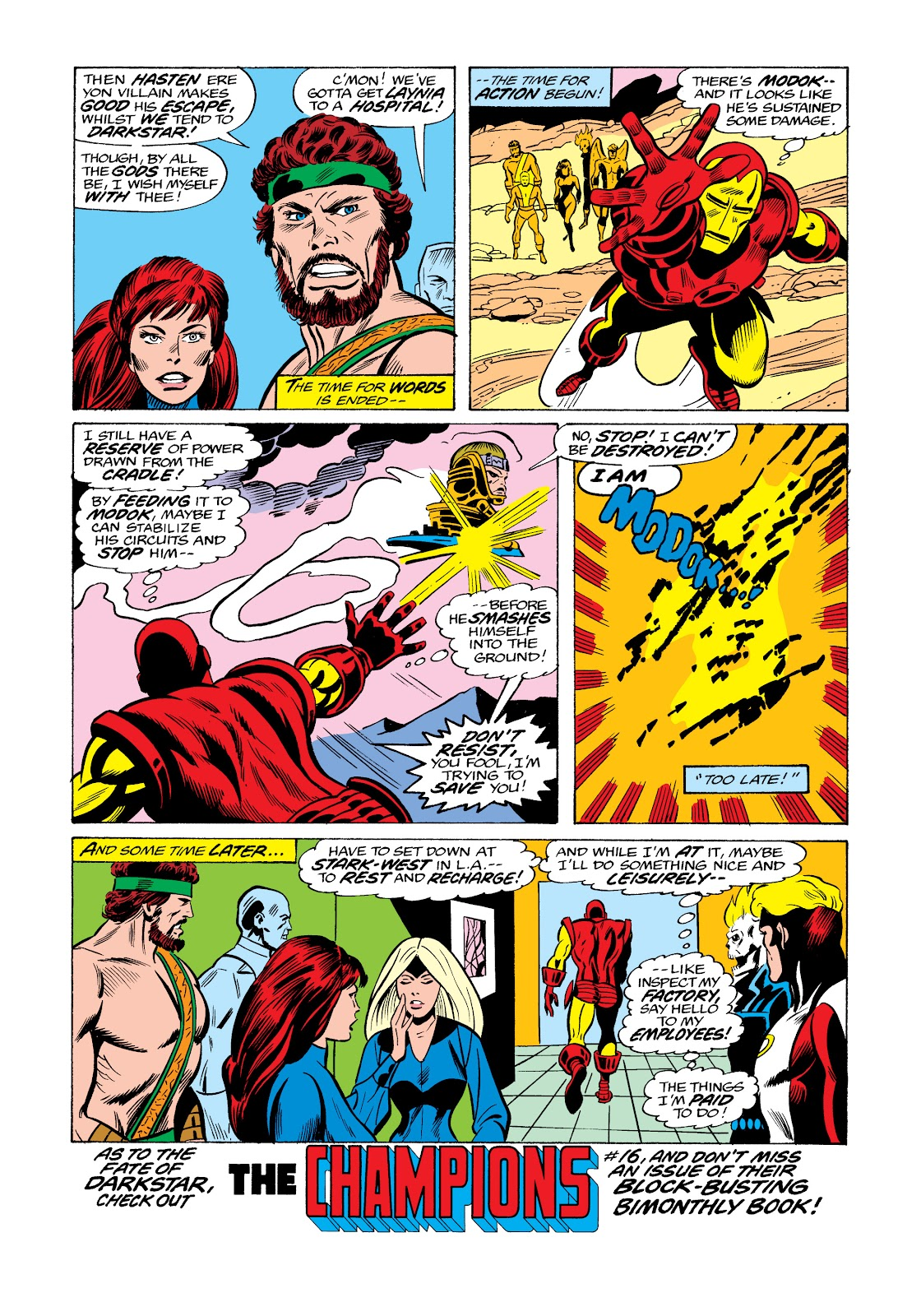 Read online Marvel Masterworks: The Invincible Iron Man comic -  Issue # TPB 11 (Part 3) - 114