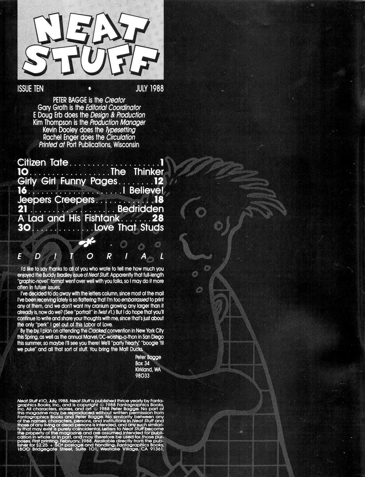 Read online Neat Stuff comic -  Issue #10 - 2