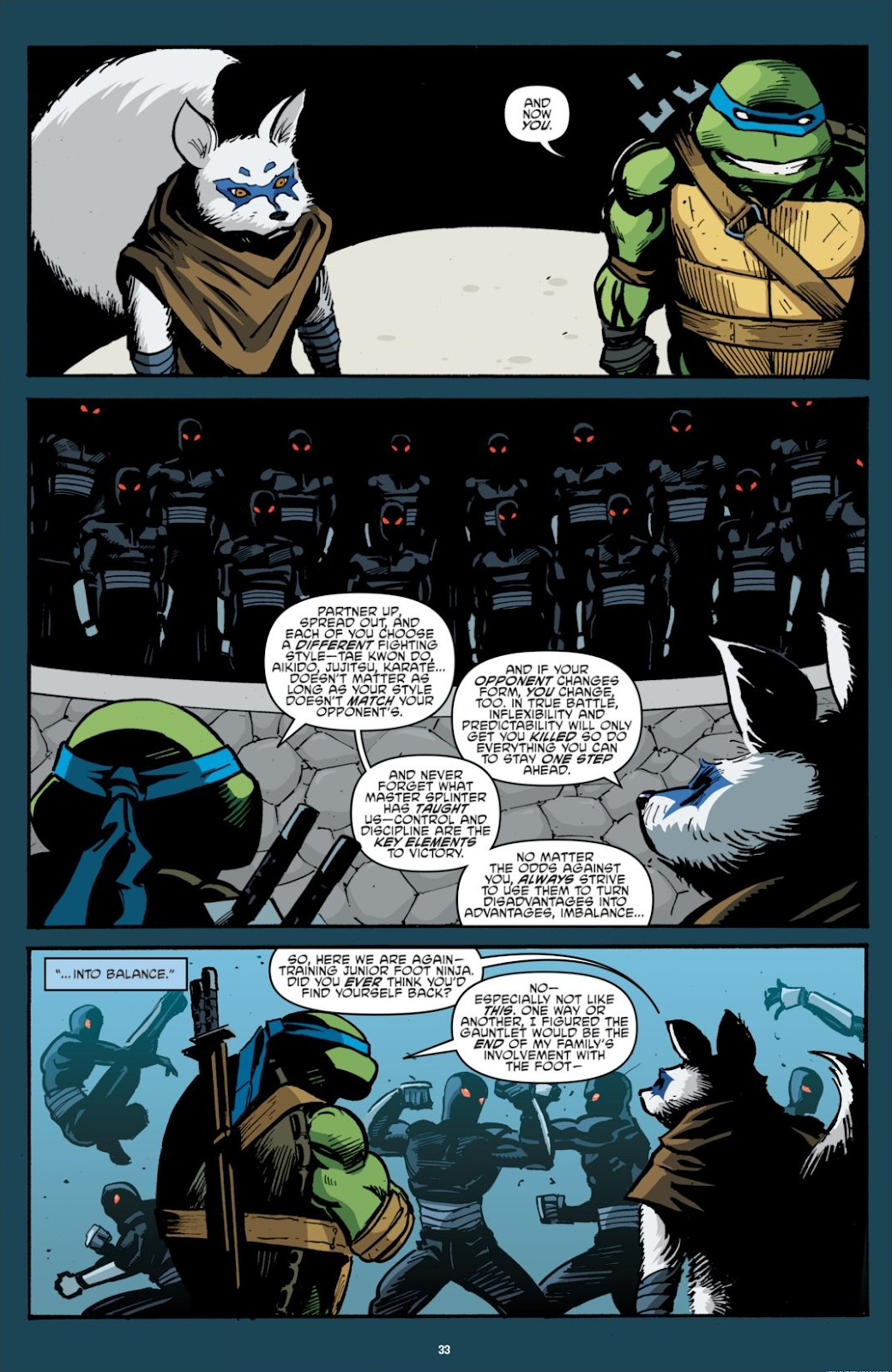 Read online Teenage Mutant Ninja Turtles: The IDW Collection comic -  Issue # TPB 7 (Part 1) - 33