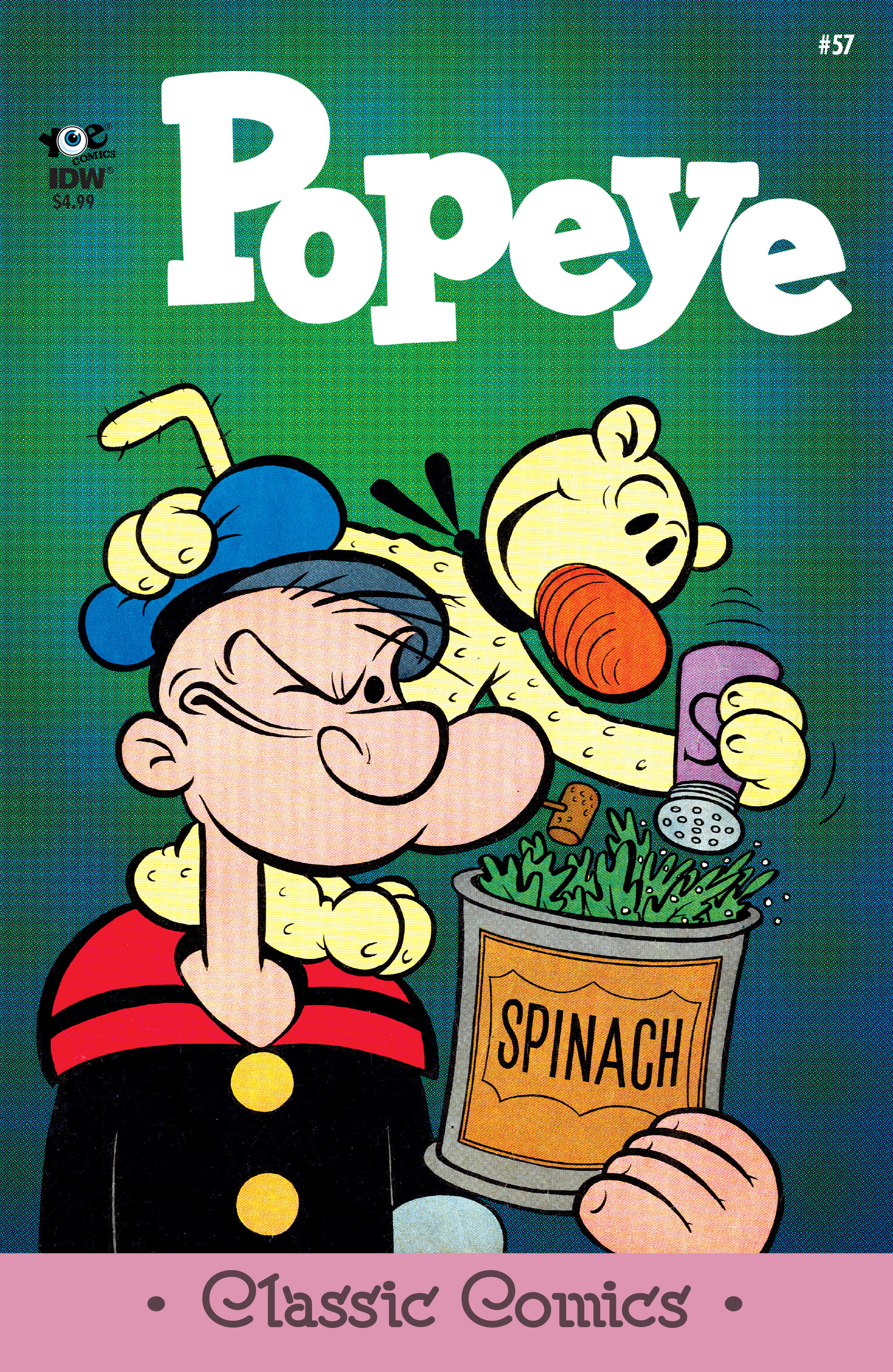 Read online Classic Popeye comic -  Issue #57 - 1