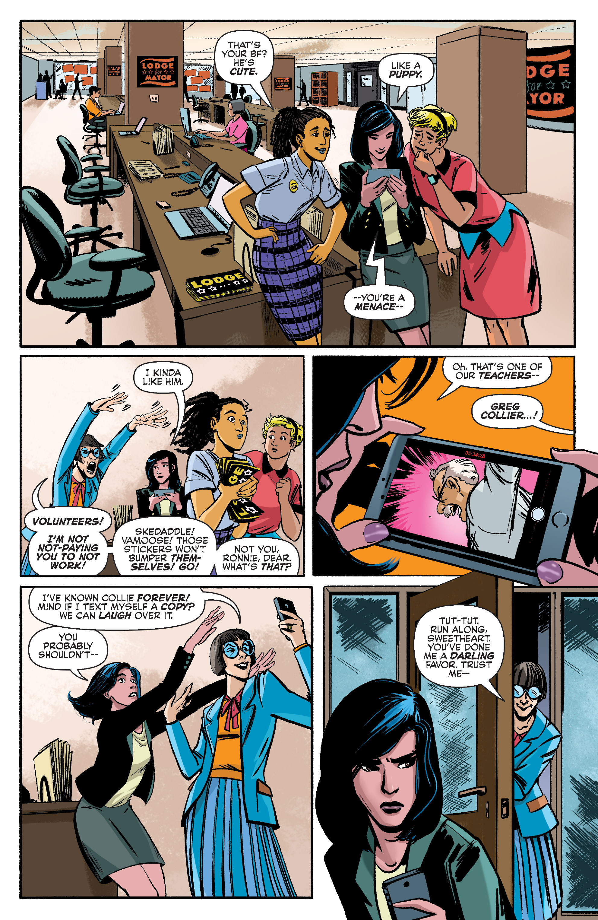Read online Archie (2015) comic -  Issue #10 - 9
