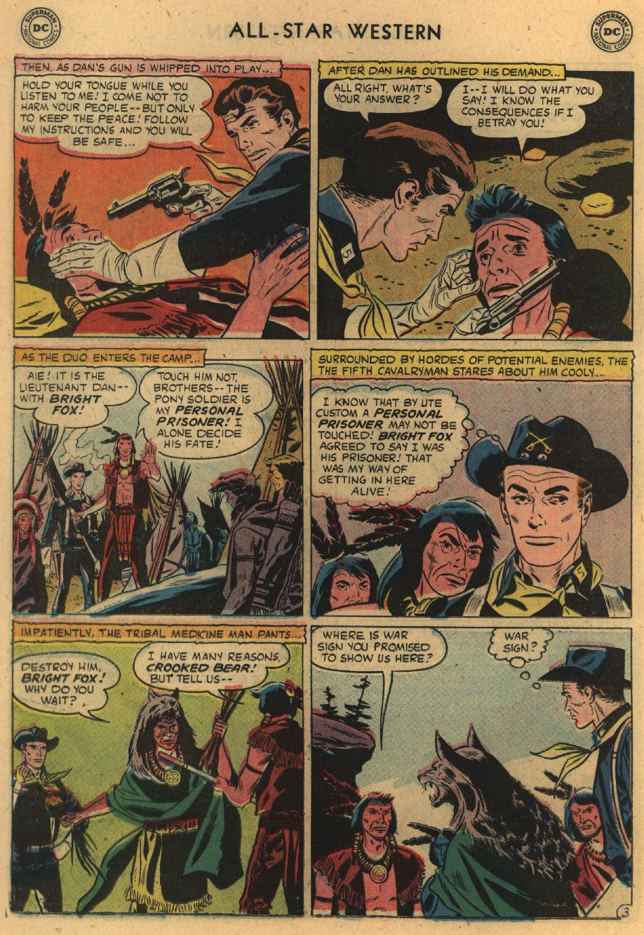 Read online All-Star Western (1951) comic -  Issue #100 - 22