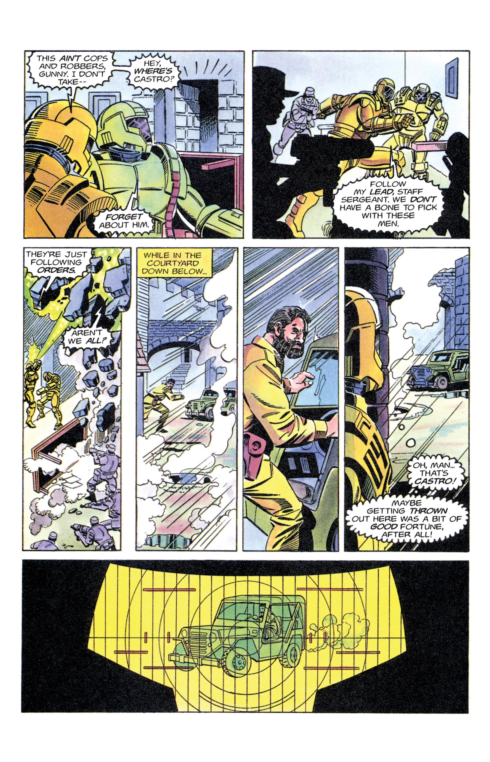 Read online Armorines comic -  Issue #11 - 18