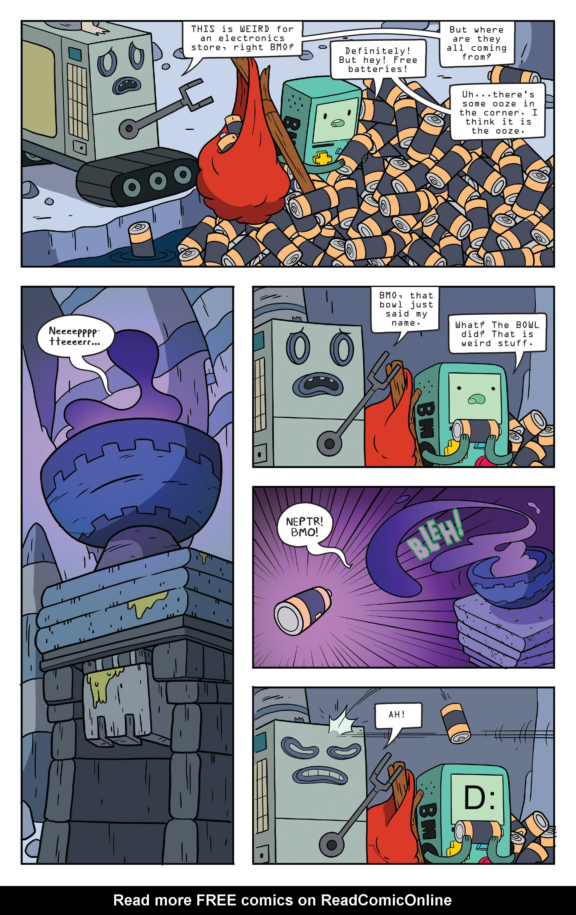 Read online Adventure Time comic -  Issue #56 - 9