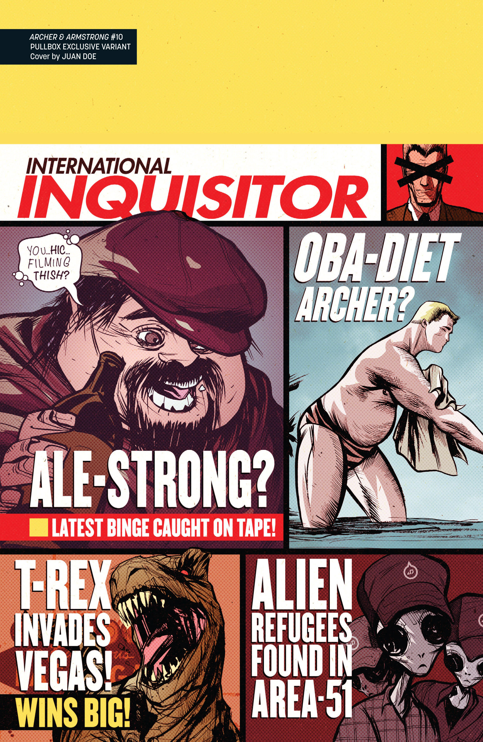 Read online Archer and Armstrong comic -  Issue #Archer and Armstrong _TPB 3 - 124