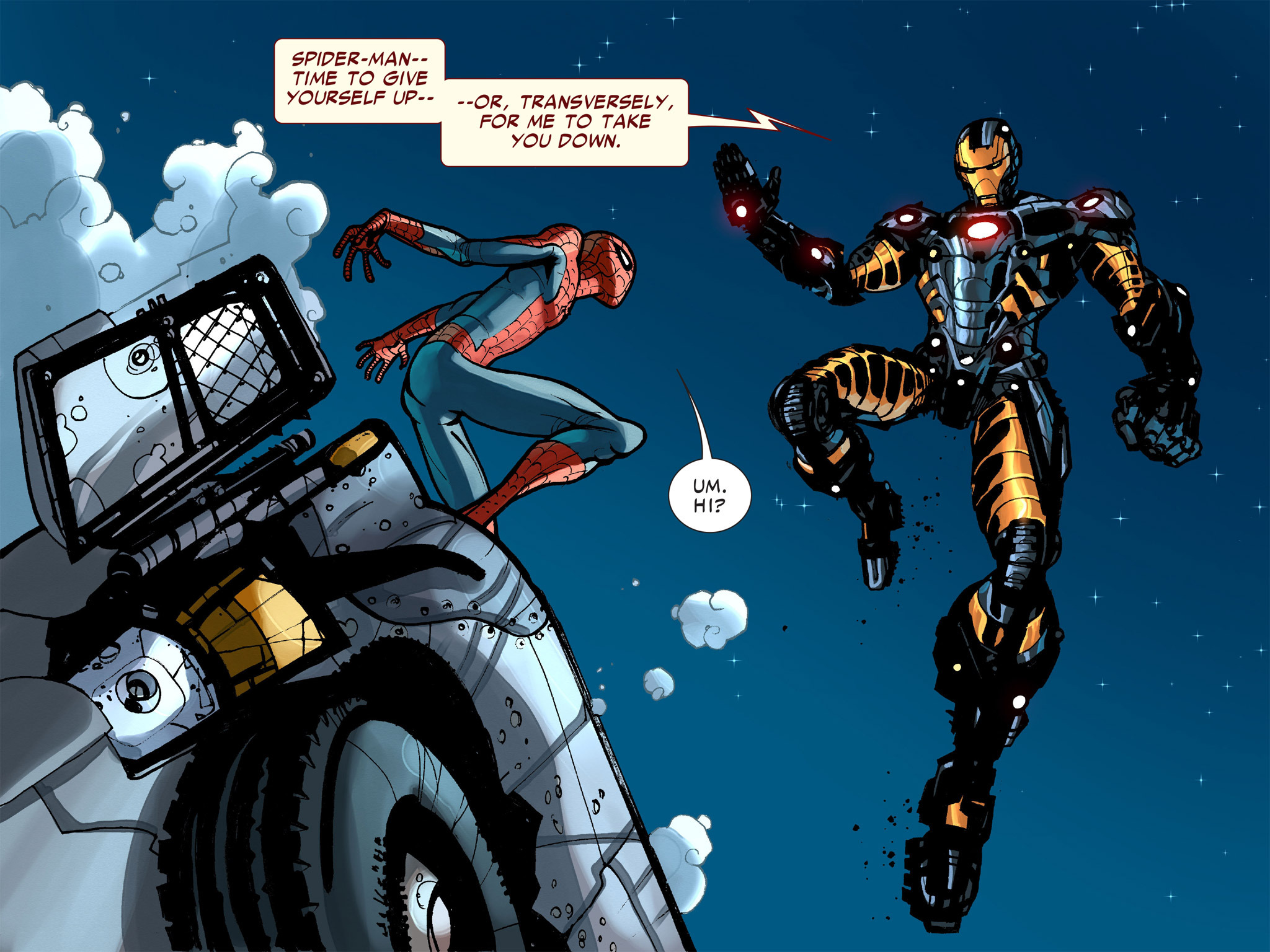 Read online Amazing Spider-Man: Who Am I? comic -  Issue # Full (Part 1) - 130