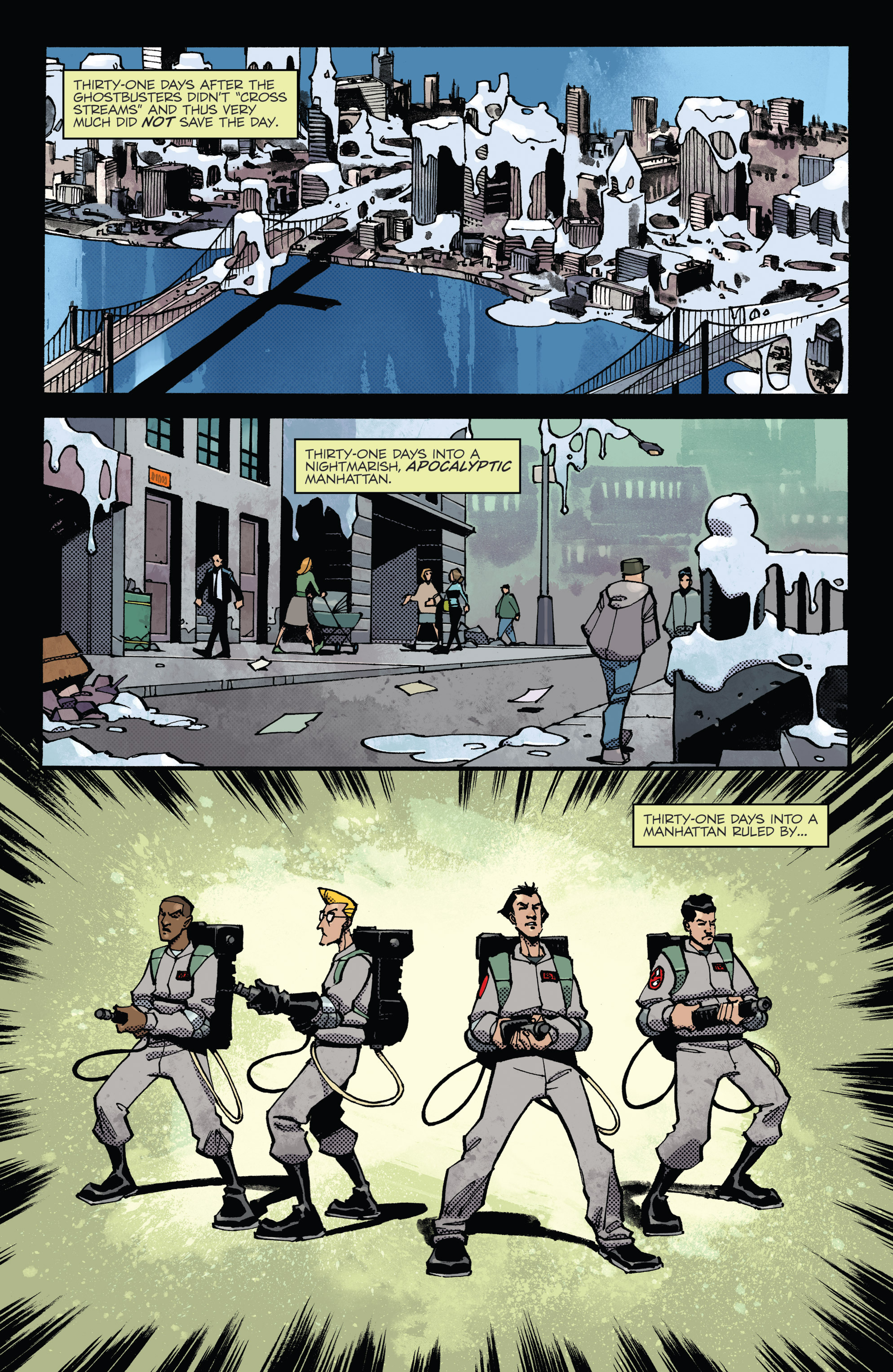 Read online Ghostbusters: Deviations comic -  Issue #1 - 3