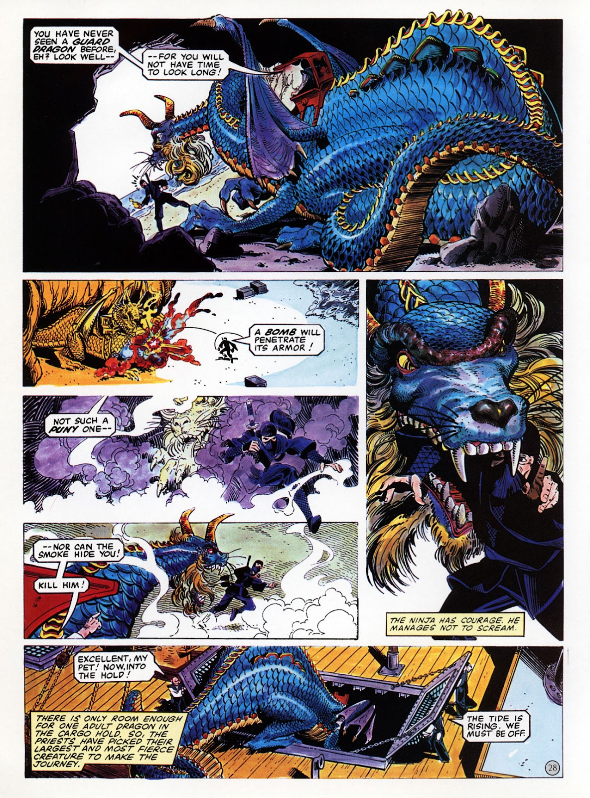Read online Epic Graphic Novel: Last of the Dragons comic -  Issue # Full - 29