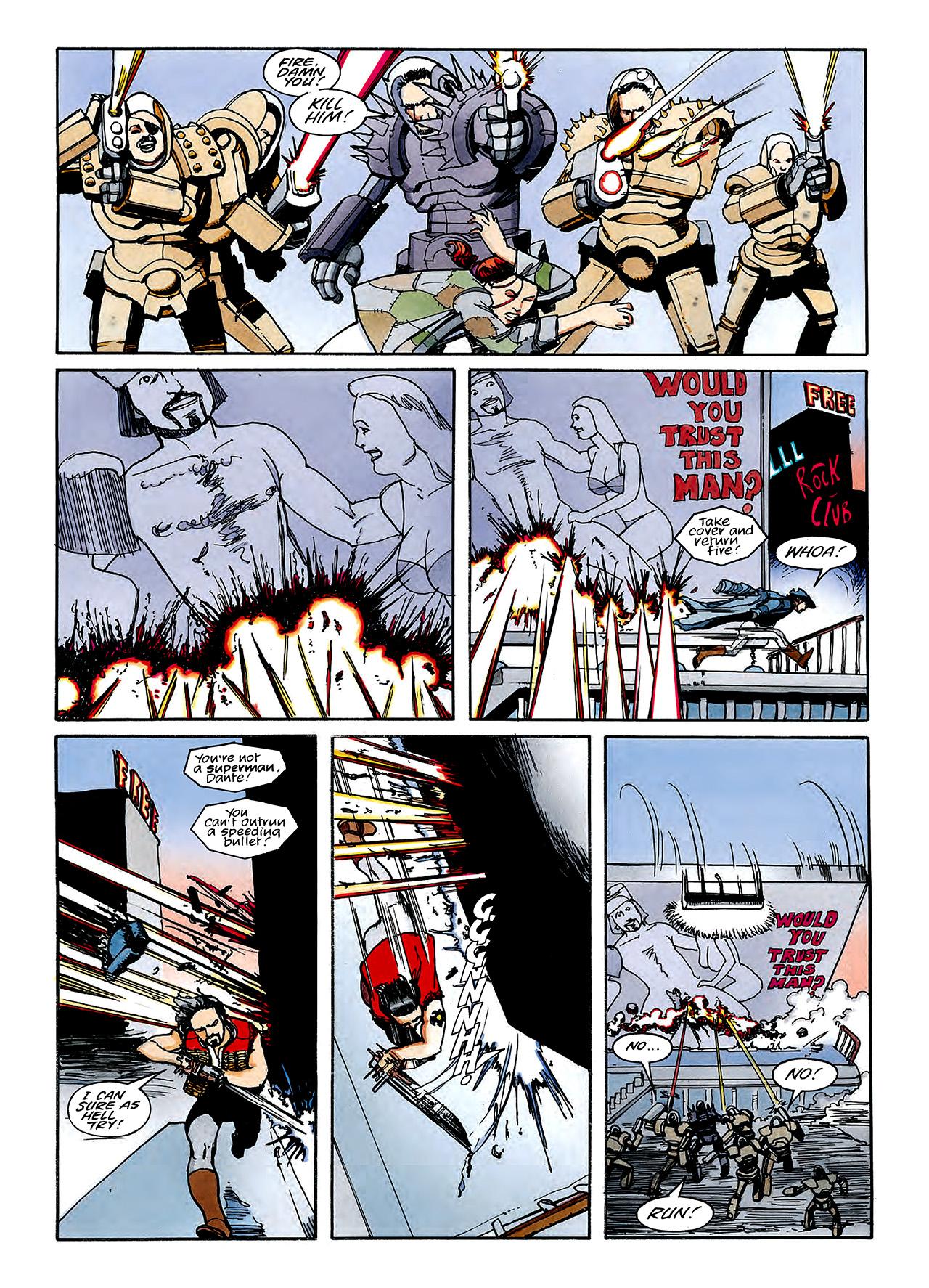 Read online Nikolai Dante comic -  Issue # TPB 3 - 105