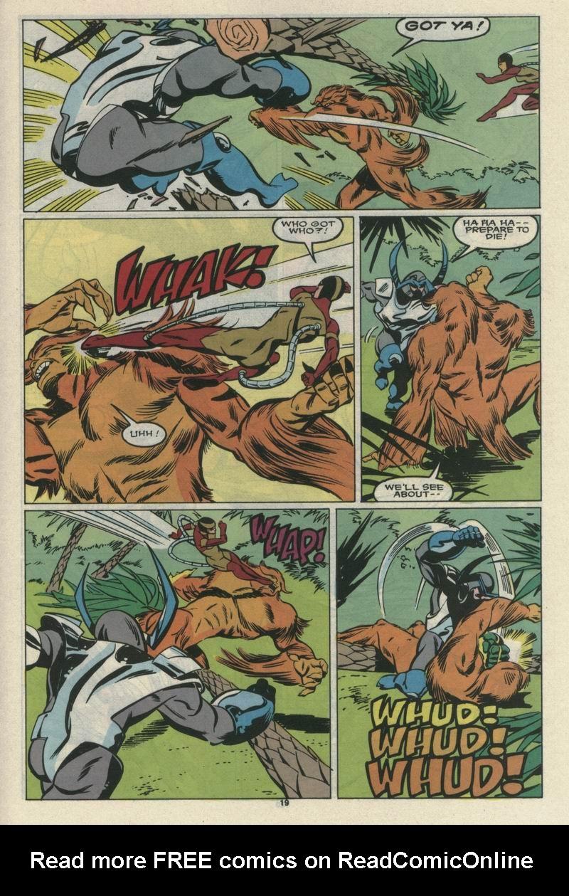 Read online Alpha Flight (1983) comic -  Issue #69 - 21