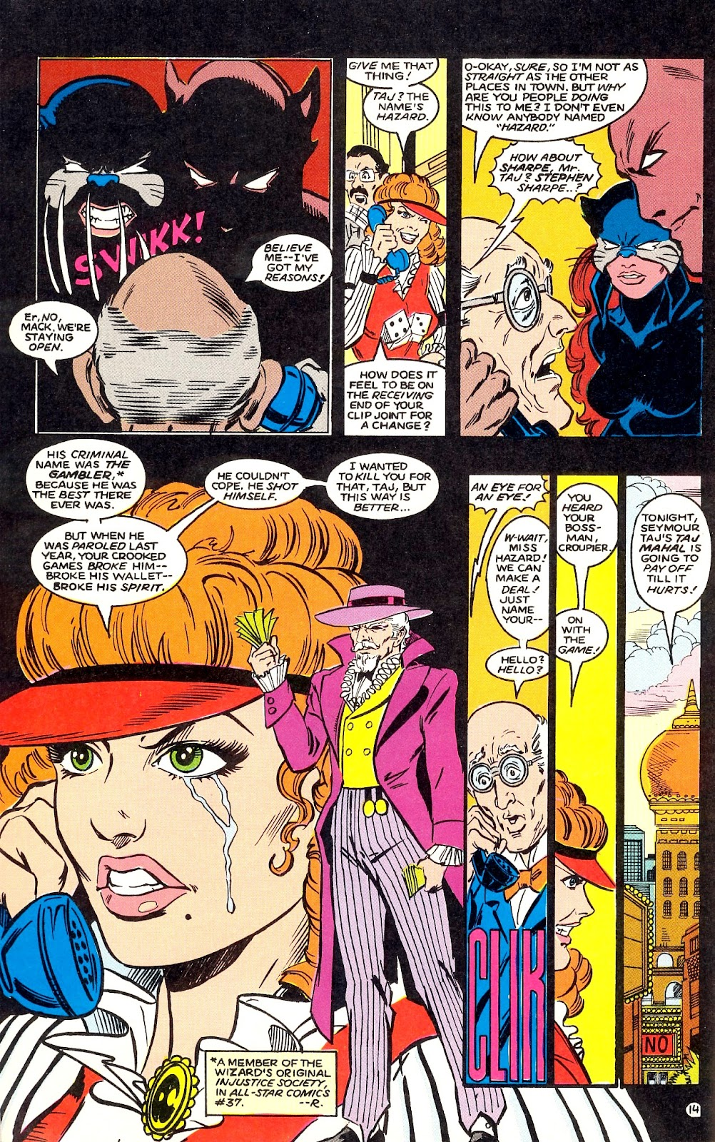 Infinity Inc. (1984) issue 35 - Page 16