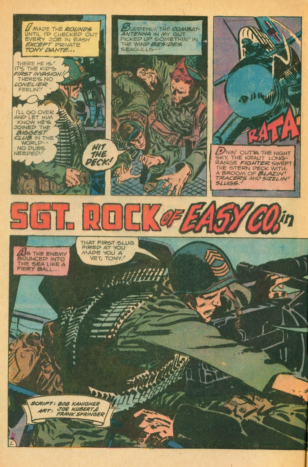 Read online Sgt. Rock comic -  Issue #302 - 4