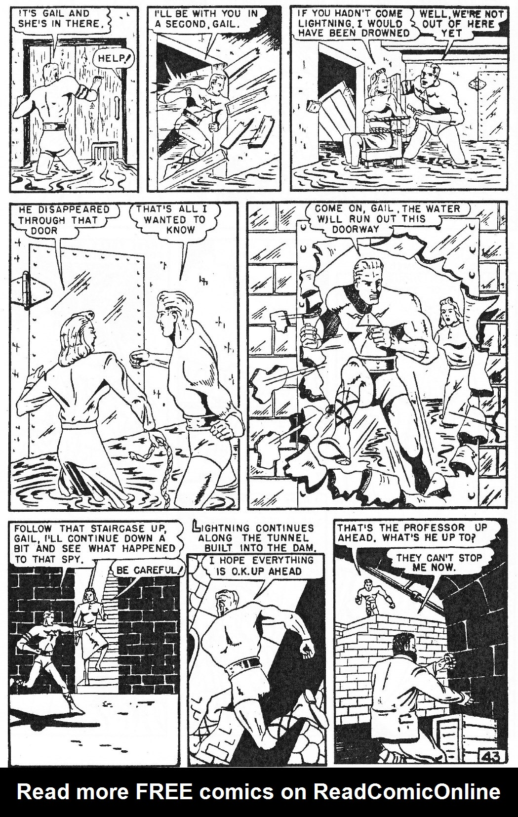 Read online Men of Mystery Comics comic -  Issue #81 - 109