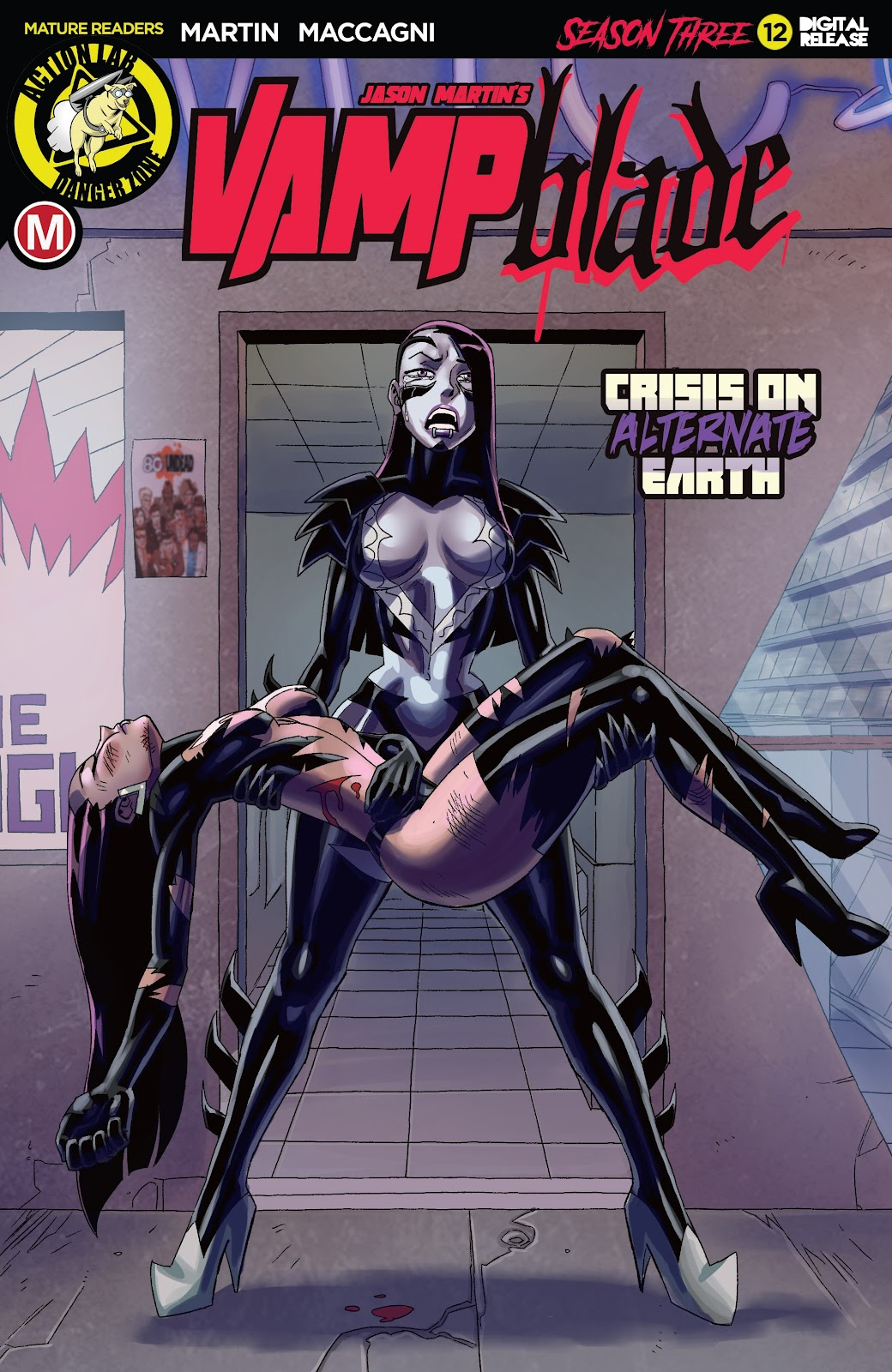 Read online Vampblade Season 3 comic -  Issue #12 - 1