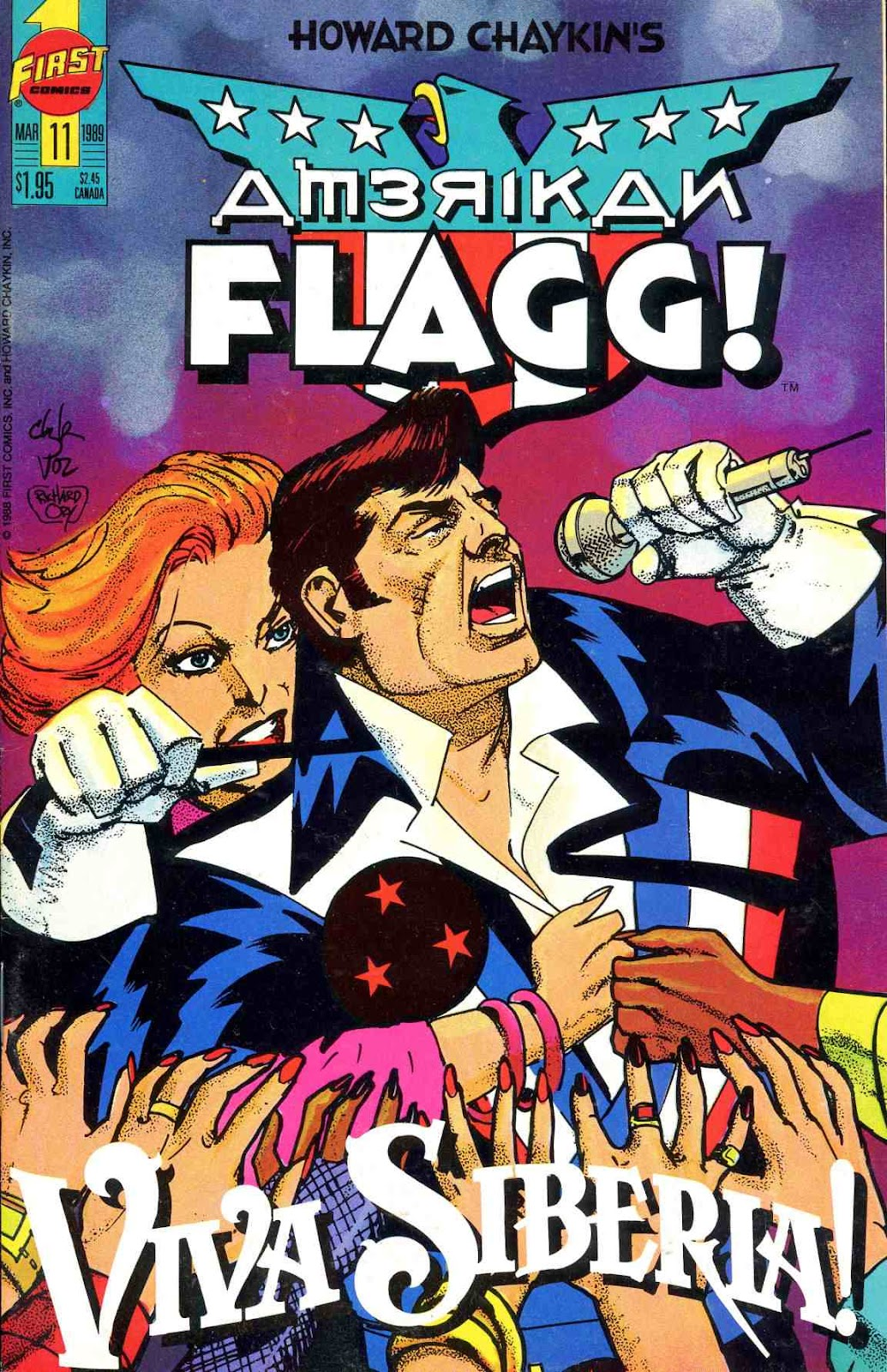 Howard Chaykins American Flagg issue 11 - Page 1