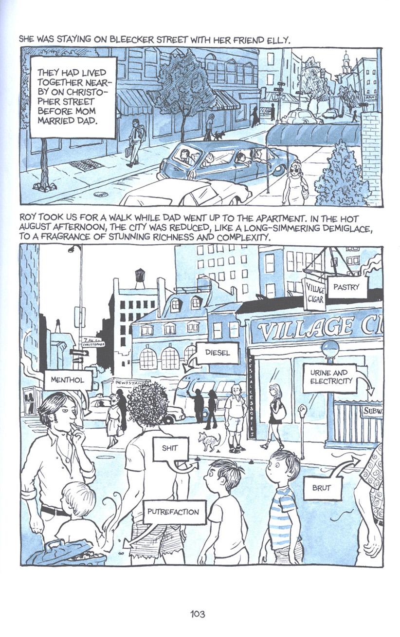 Read online Fun Home: A Family Tragicomic comic -  Issue # TPB - 109