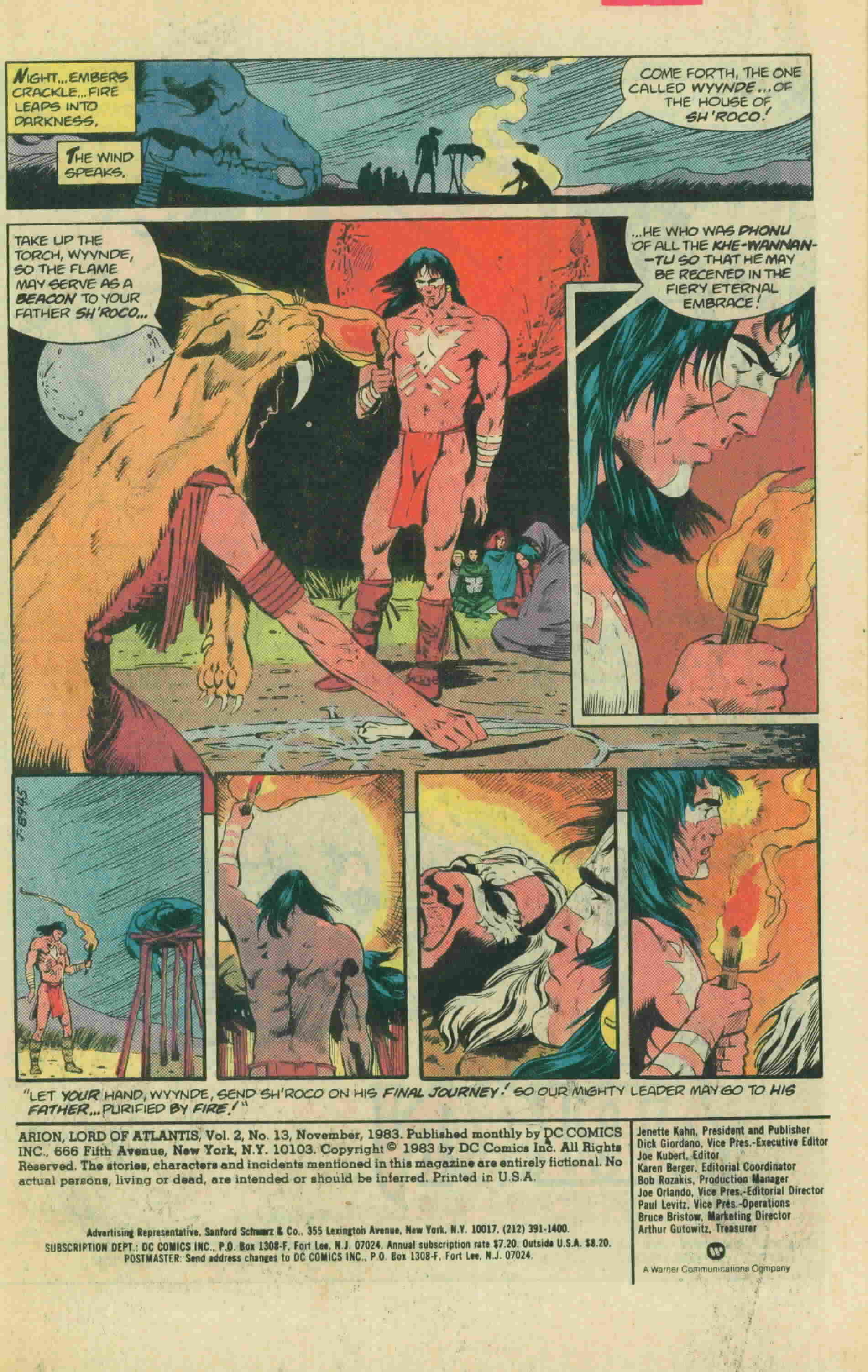 Read online Arion, Lord of Atlantis comic -  Issue #13 - 3