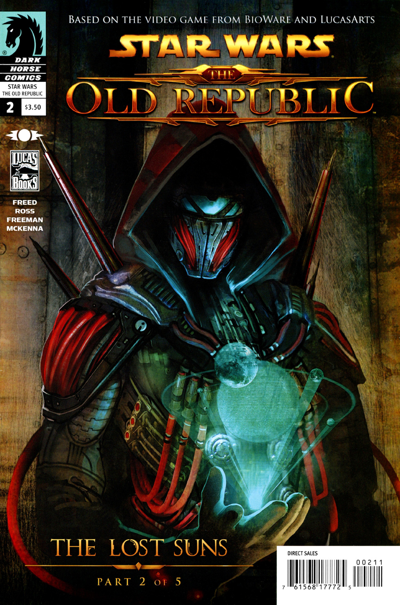 Read online Star Wars: The Old Republic - The Lost Suns comic -  Issue #2 - 1