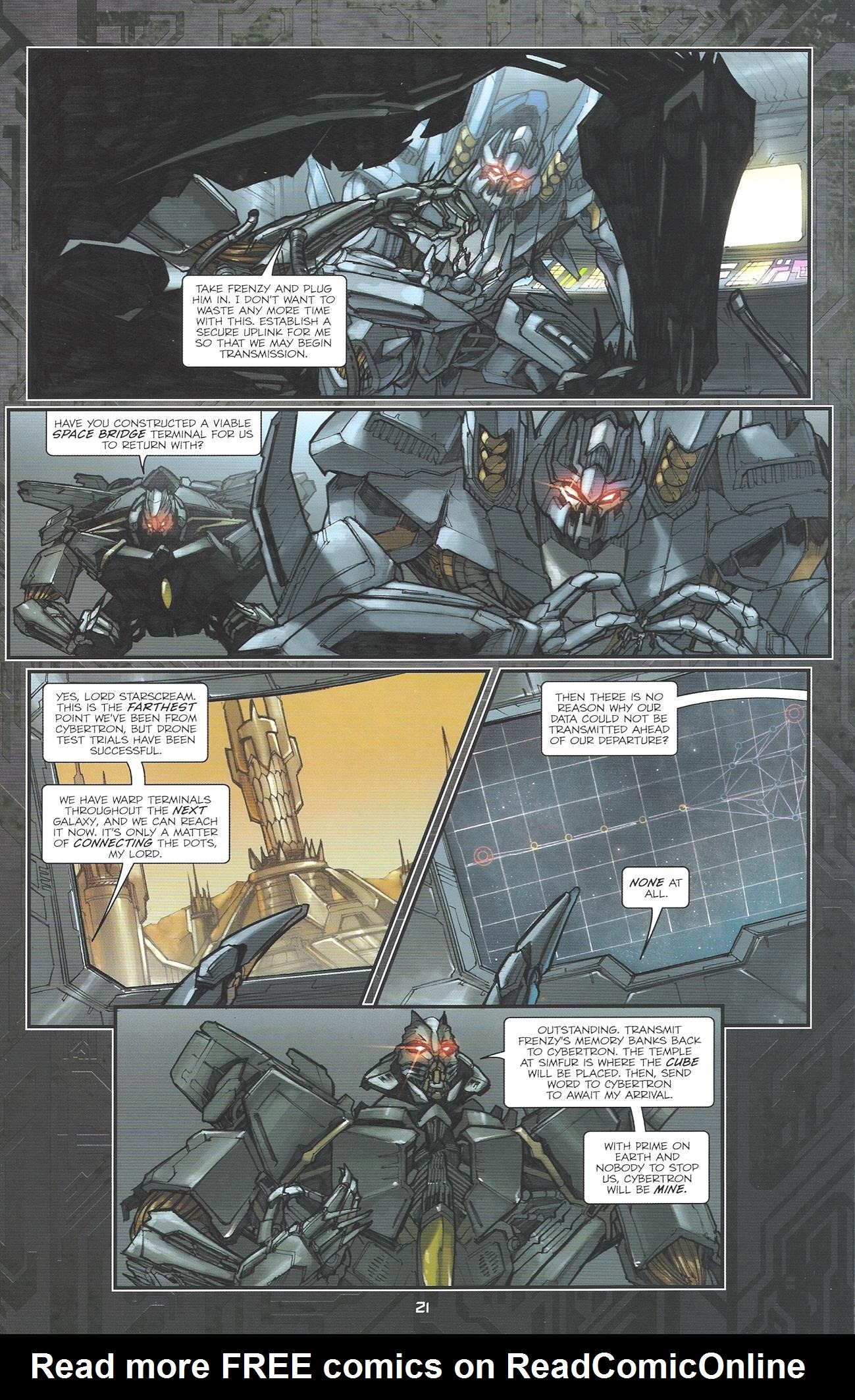 Read online Transformers: The Reign of Starscream comic -  Issue #2 - 23