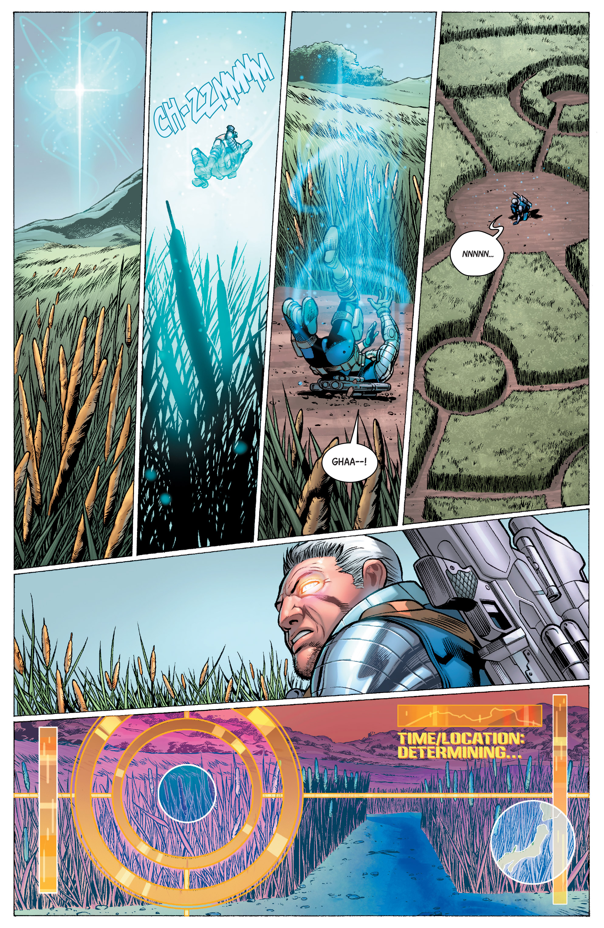 Read online Cable (2017) comic -  Issue #1 - 11