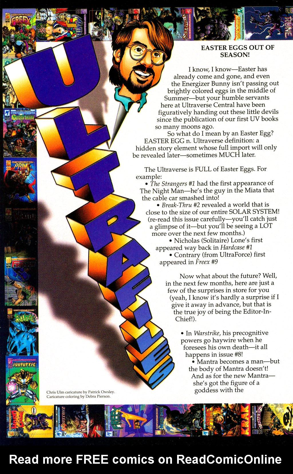 Read online UltraForce (1994) comic -  Issue #1 - 28