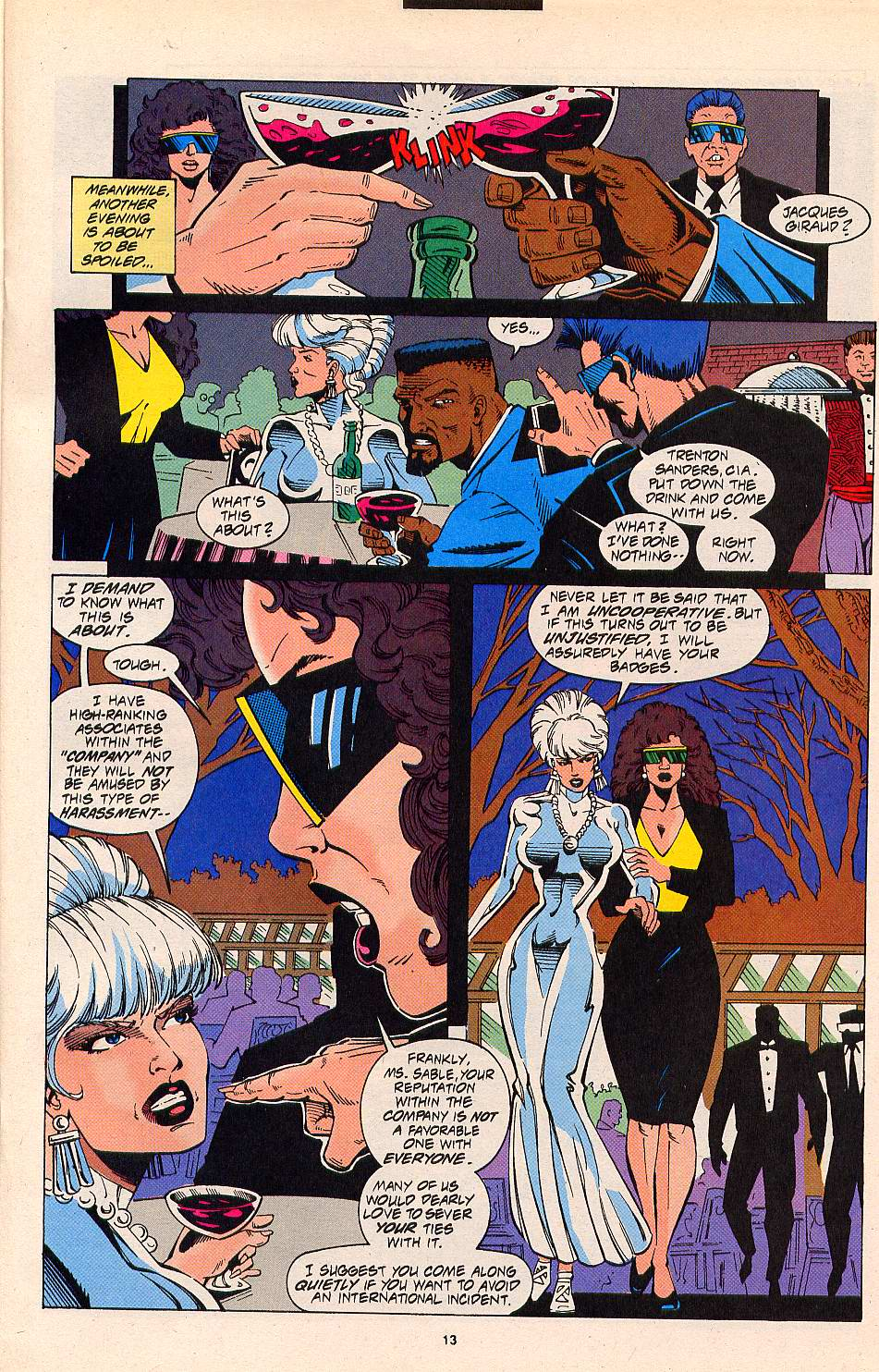 Read online Silver Sable and the Wild Pack comic -  Issue #20 - 10