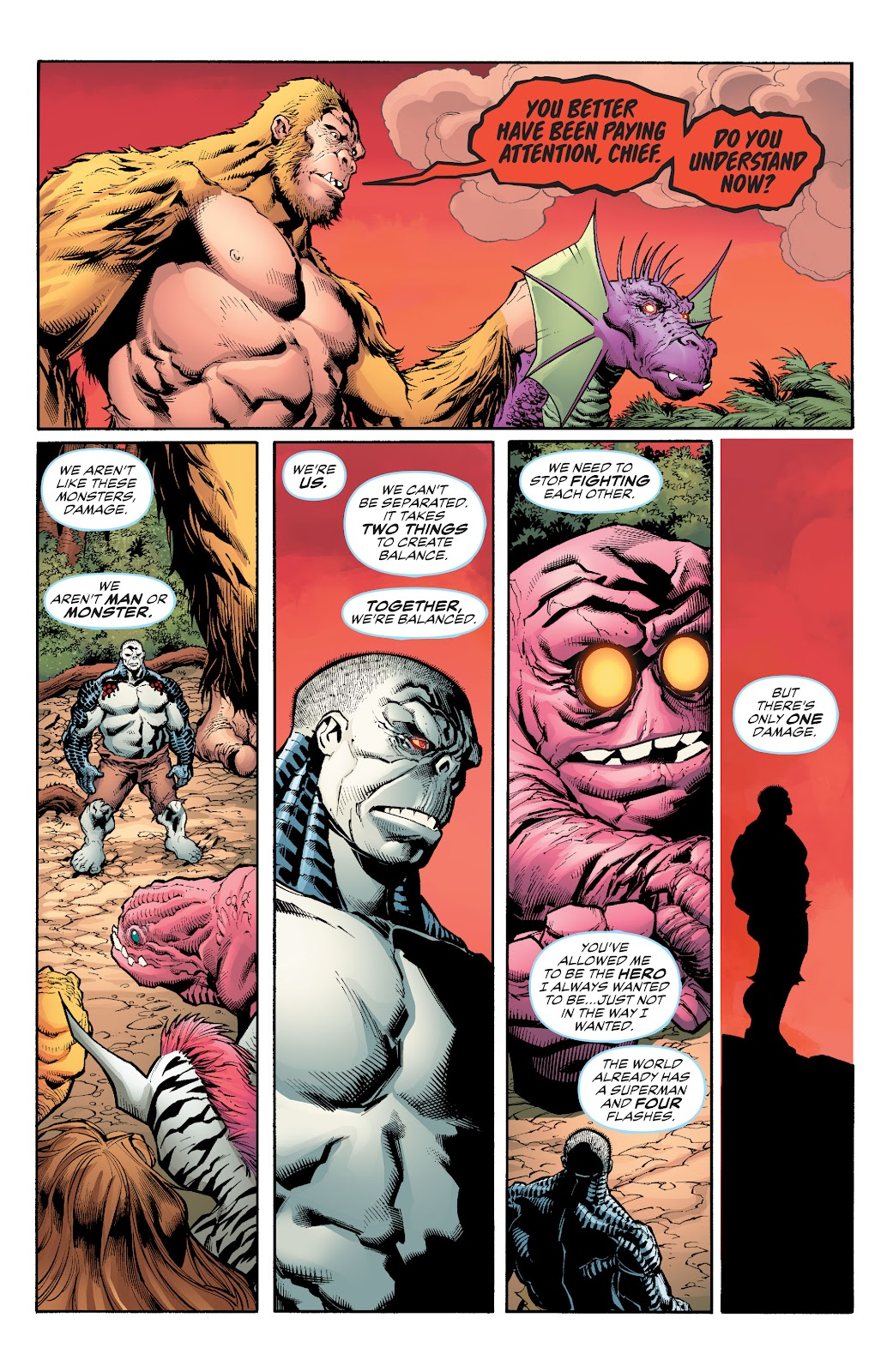 Read online Damage (2018) comic -  Issue #16 - 21