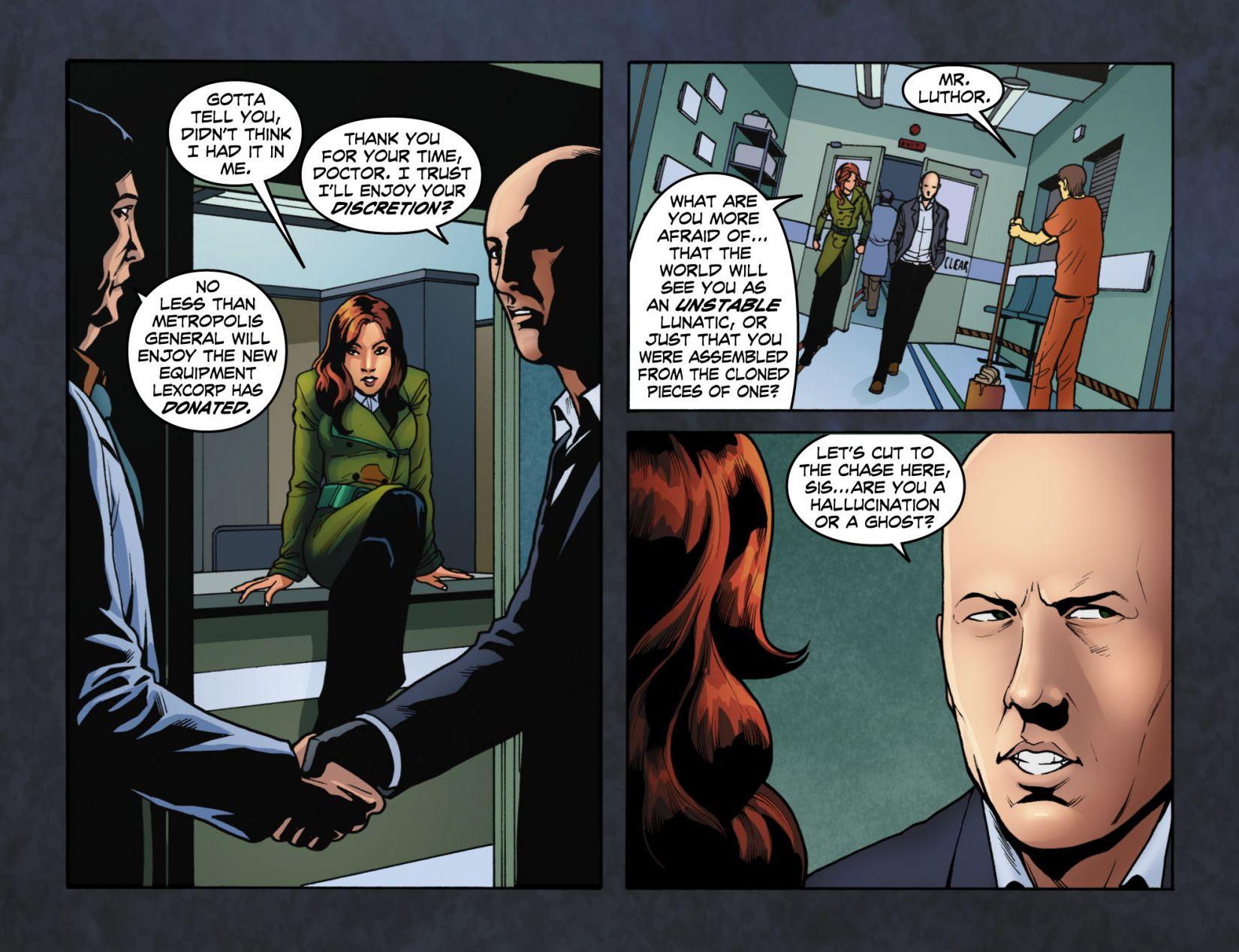 Read online Smallville: Season 11 comic -  Issue #4 - 6