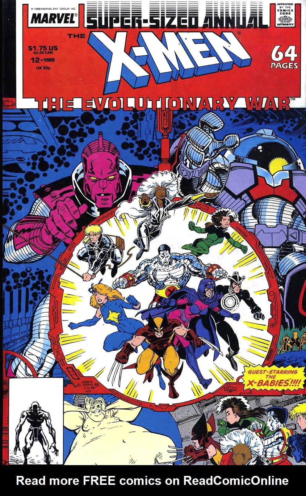 X-Men Annual 12 Page 1