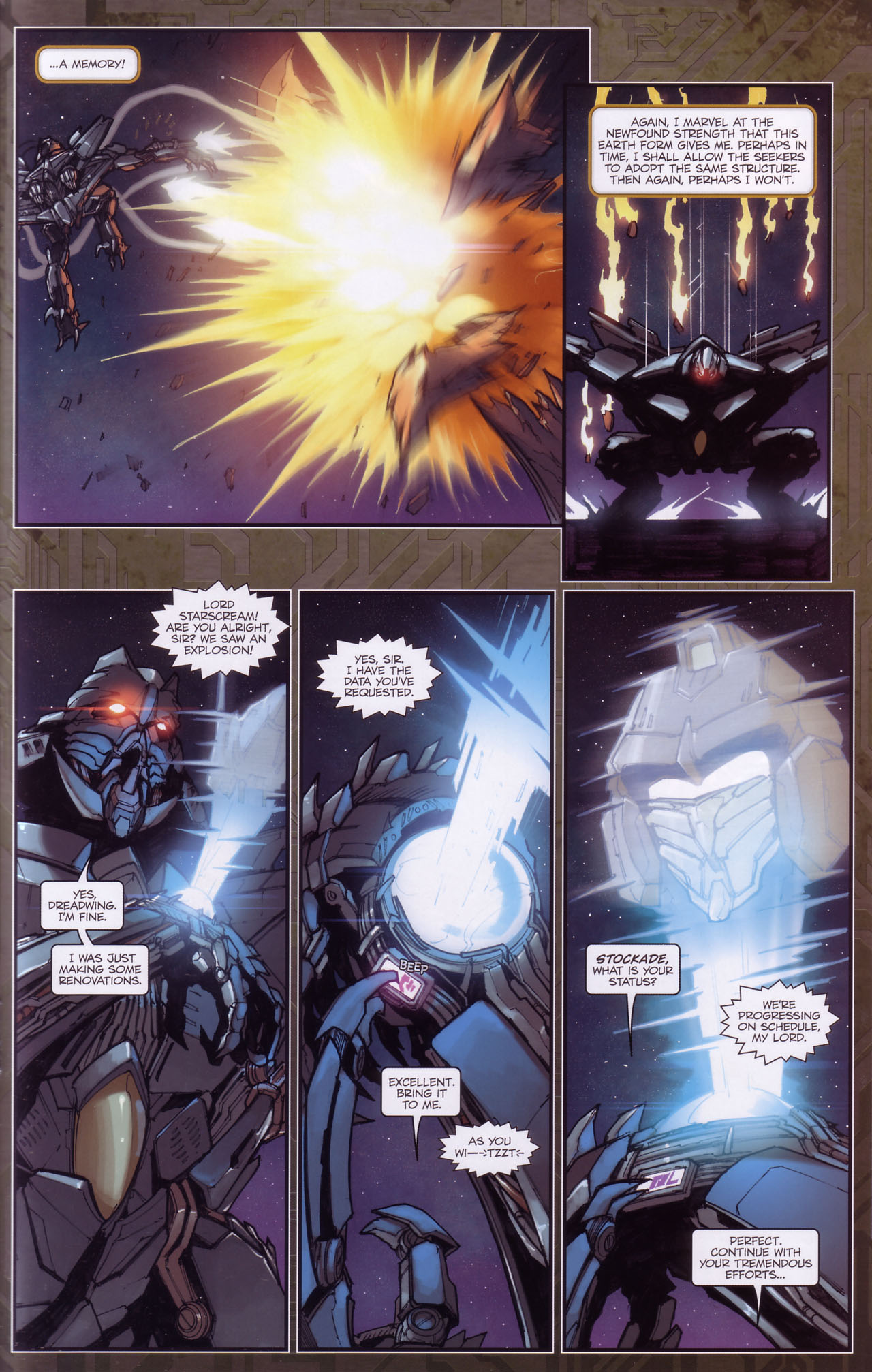 Read online Transformers: The Reign of Starscream comic -  Issue #3 - 22