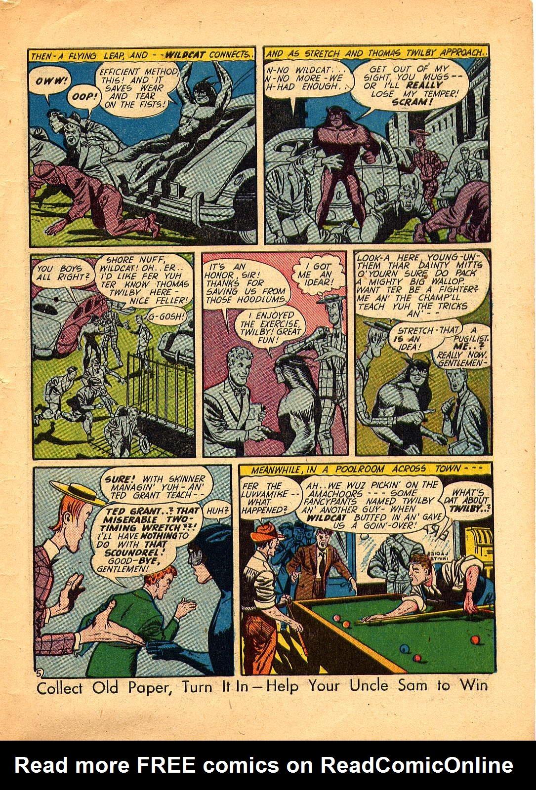 Read online Sensation (Mystery) Comics comic -  Issue #30 - 53