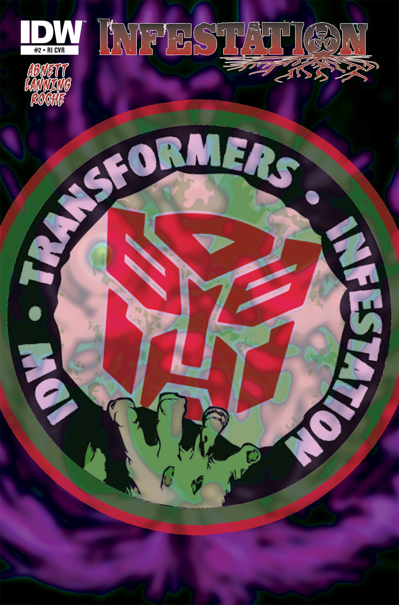 Read online Transformers: Infestation comic -  Issue #2 - 3