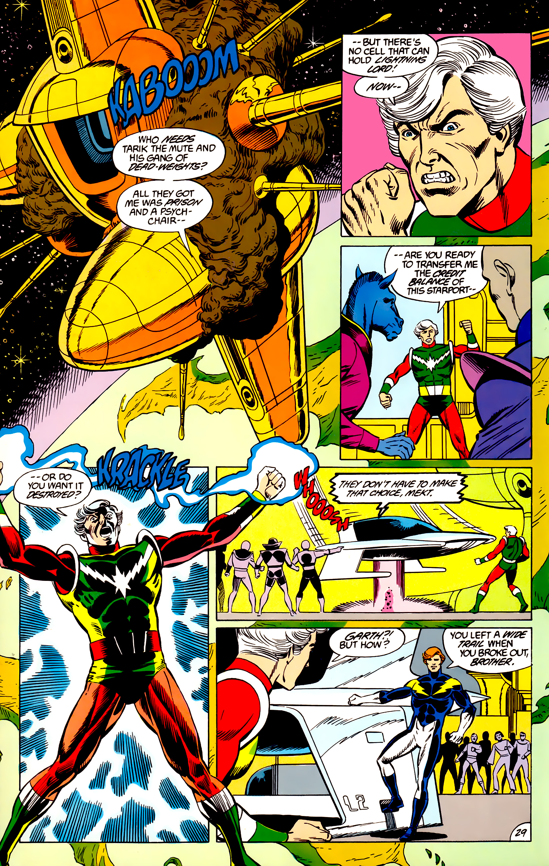 Legion of Super-Heroes (1984) 45 Page 29