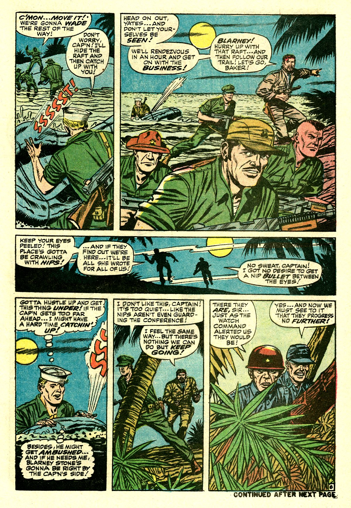 Captain Savage and his Leatherneck Raiders issue 8 - Page 9