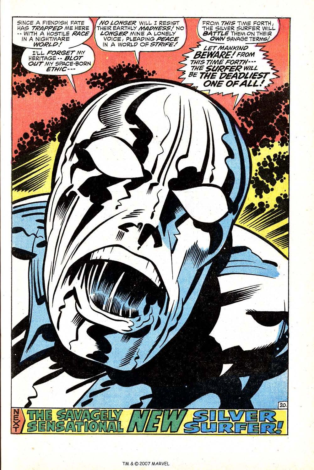 Silver Surfer (1968) issue 18 - Page 29