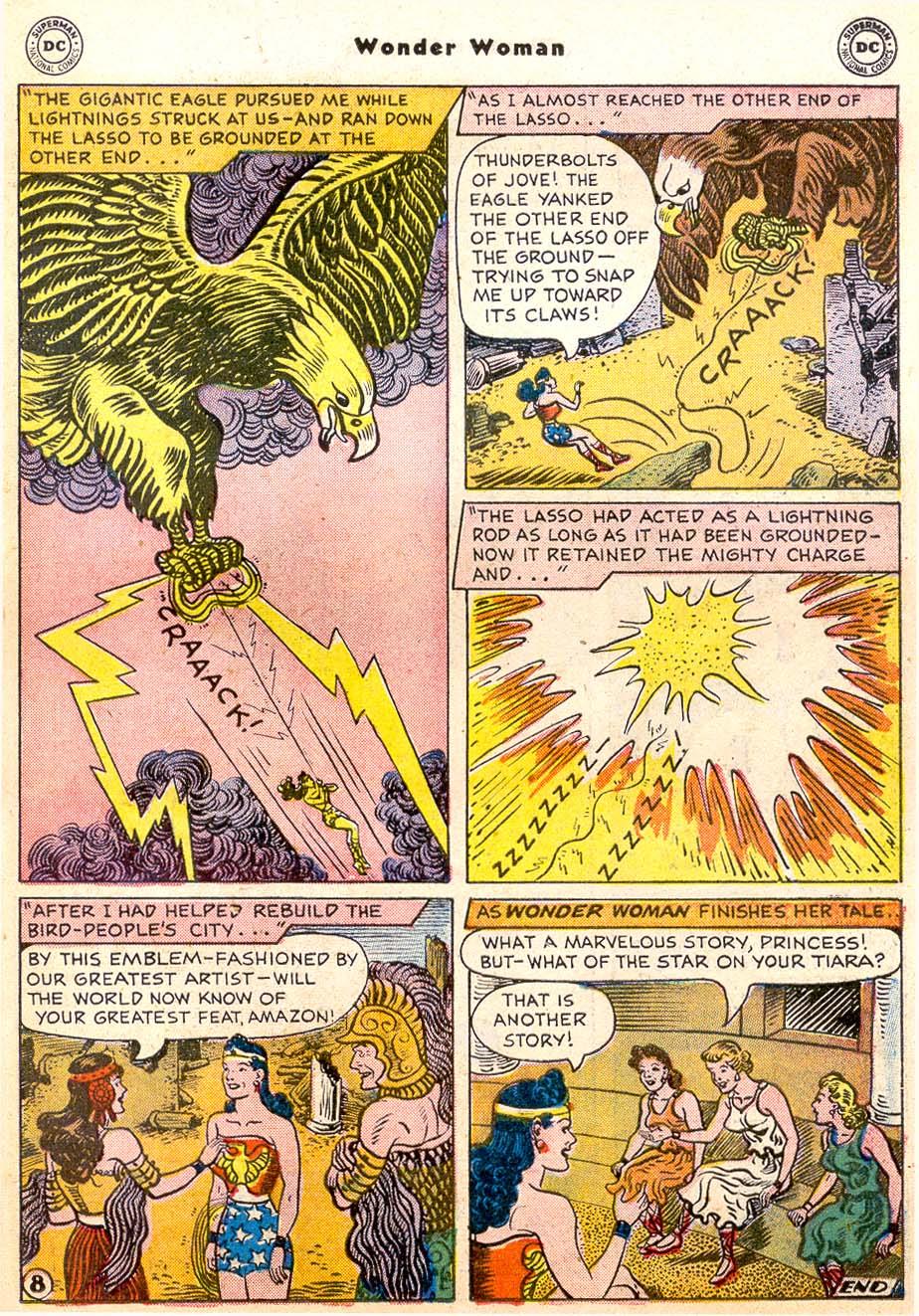 Read online Wonder Woman (1942) comic -  Issue #91 - 23