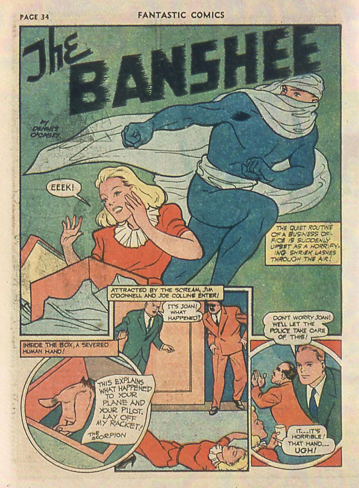 Read online Fantastic Comics comic -  Issue #22 - 35