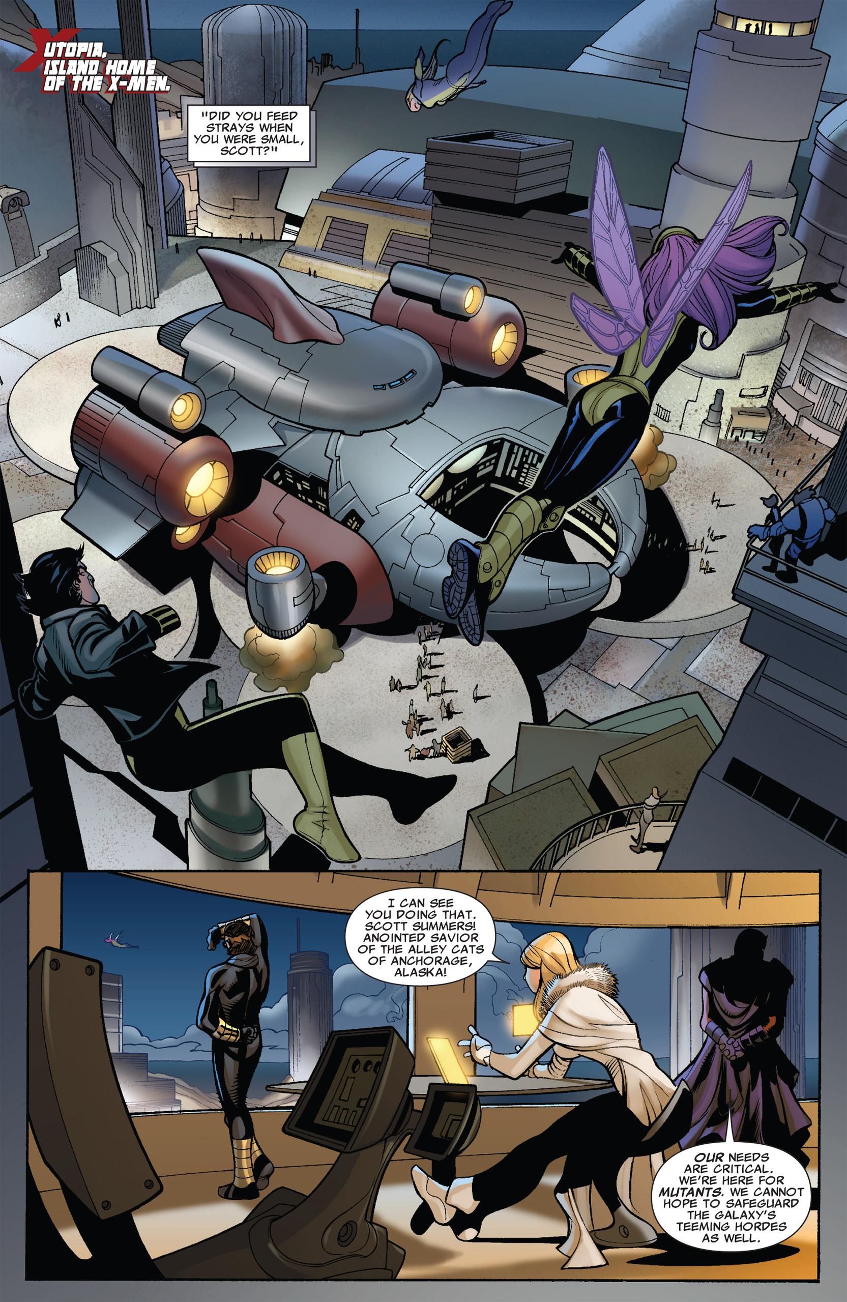 Read online Uncanny X-Men (1963) comic -  Issue #536 - 7
